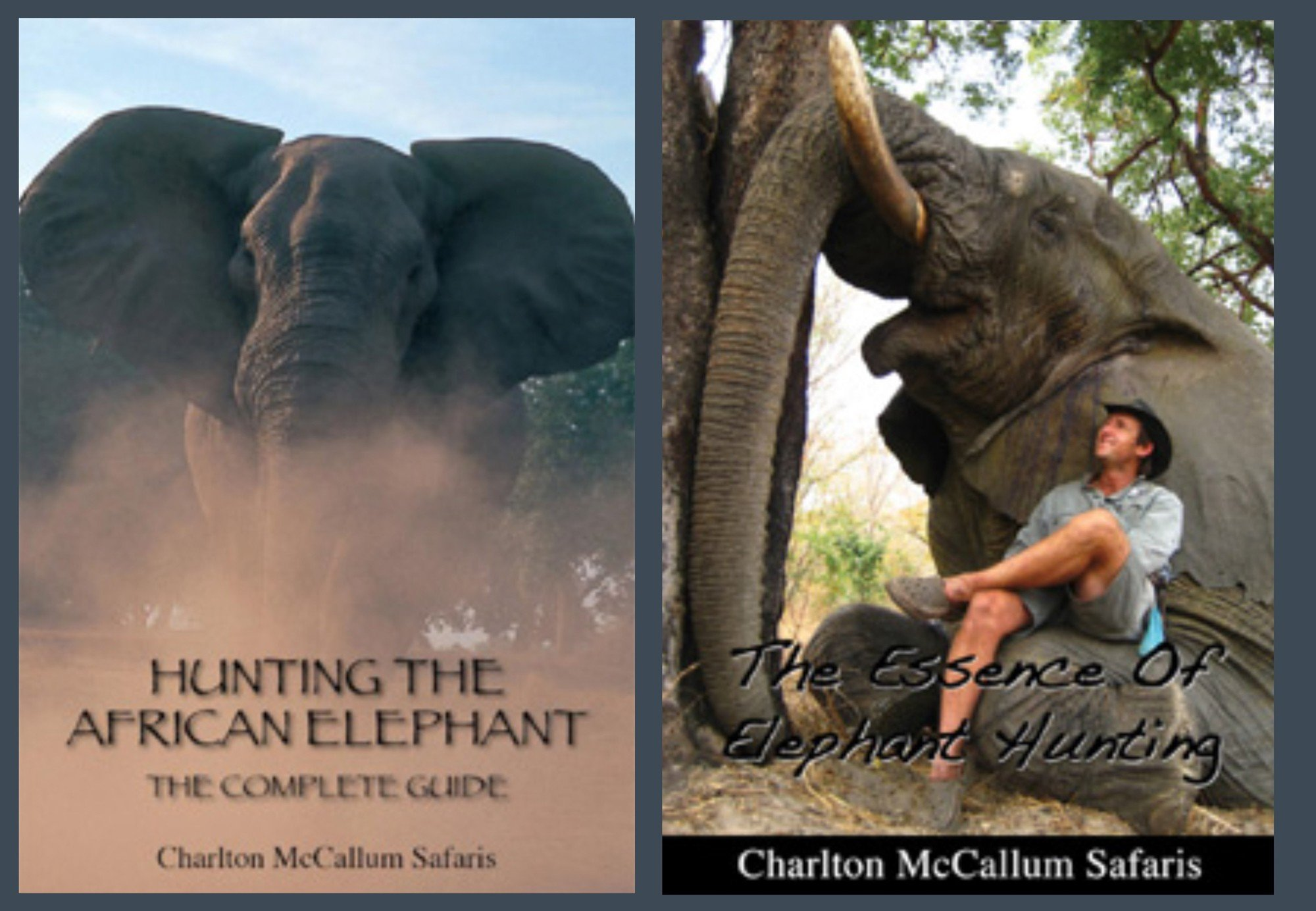 Editorial example of hunting elephants