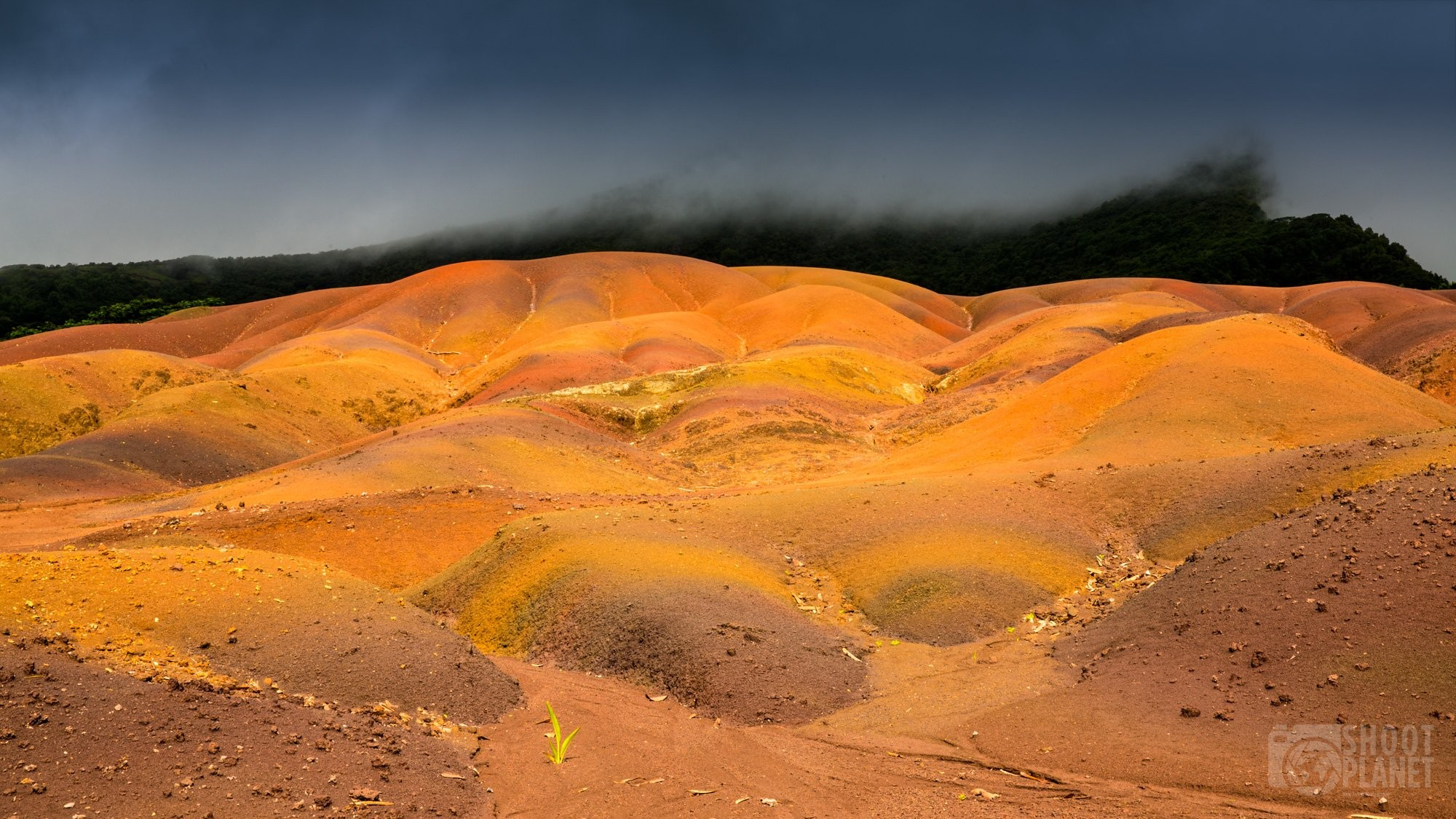 Chamarel Seven-Colored Earth, Mauritius