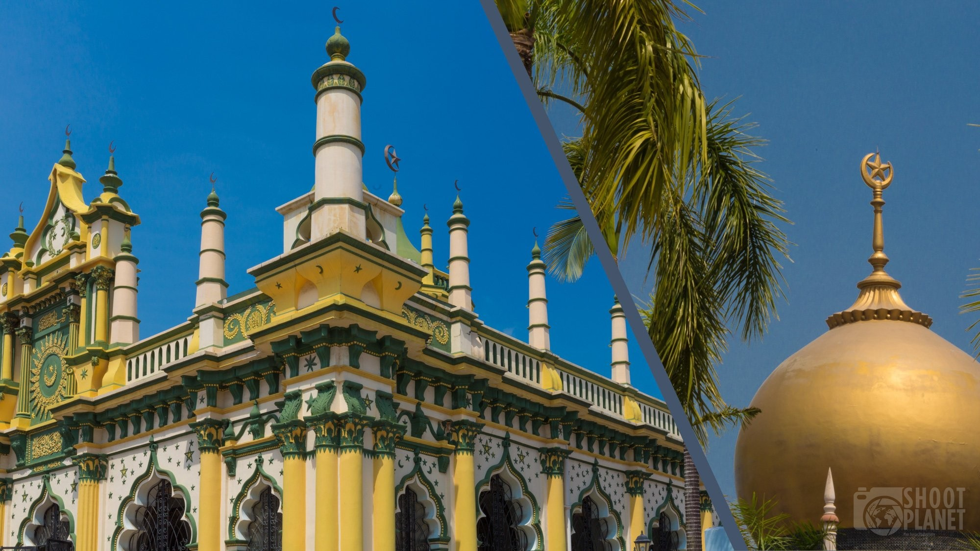 Arab street monuments in singapore