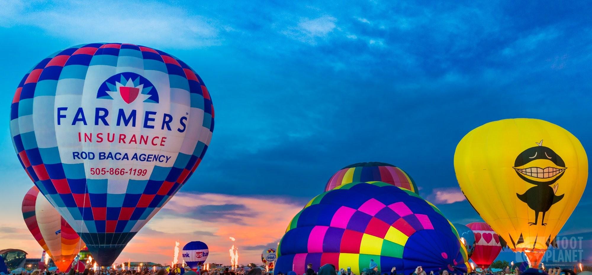 Albuquerque Balloon Fiesta sunrise, USA