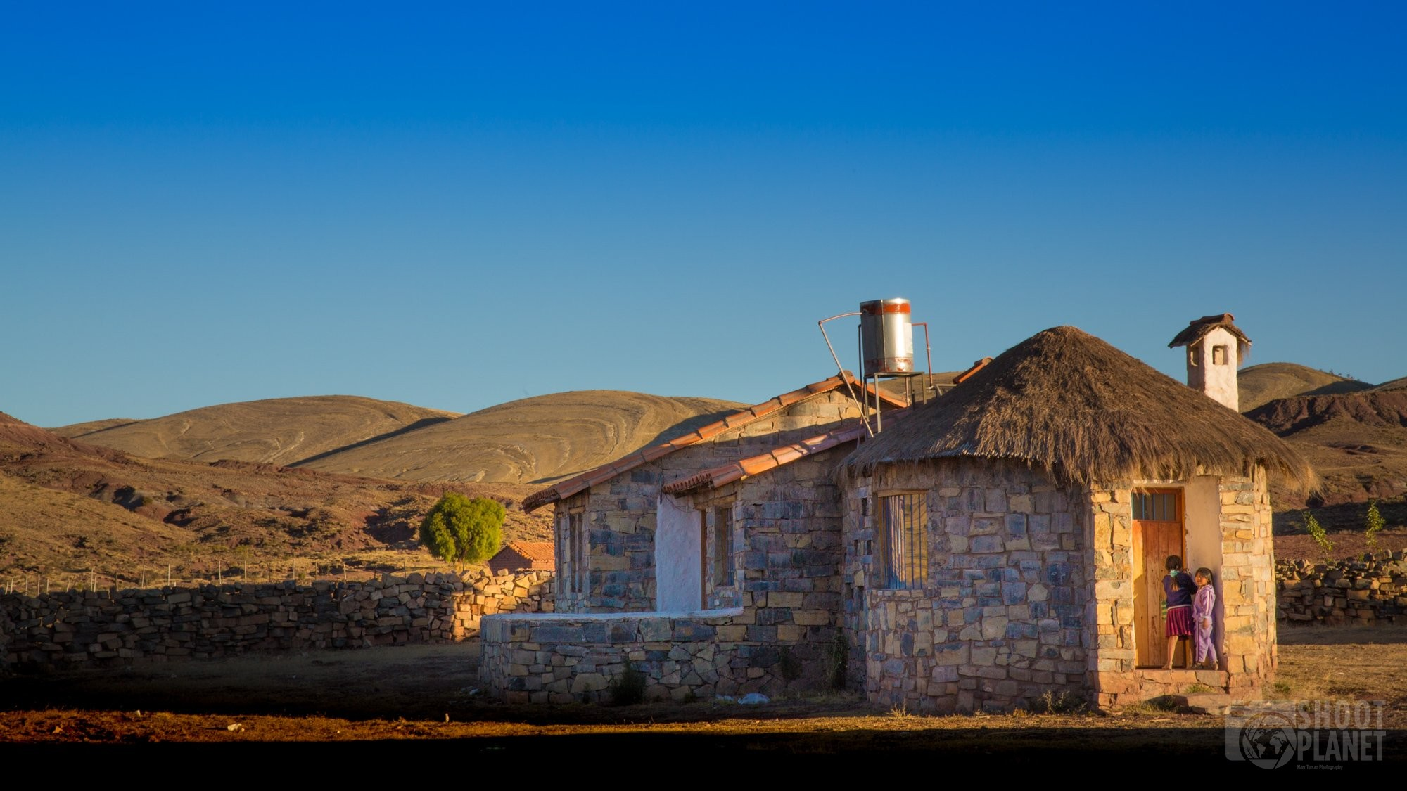 House in Maragua crater village, Bolivia