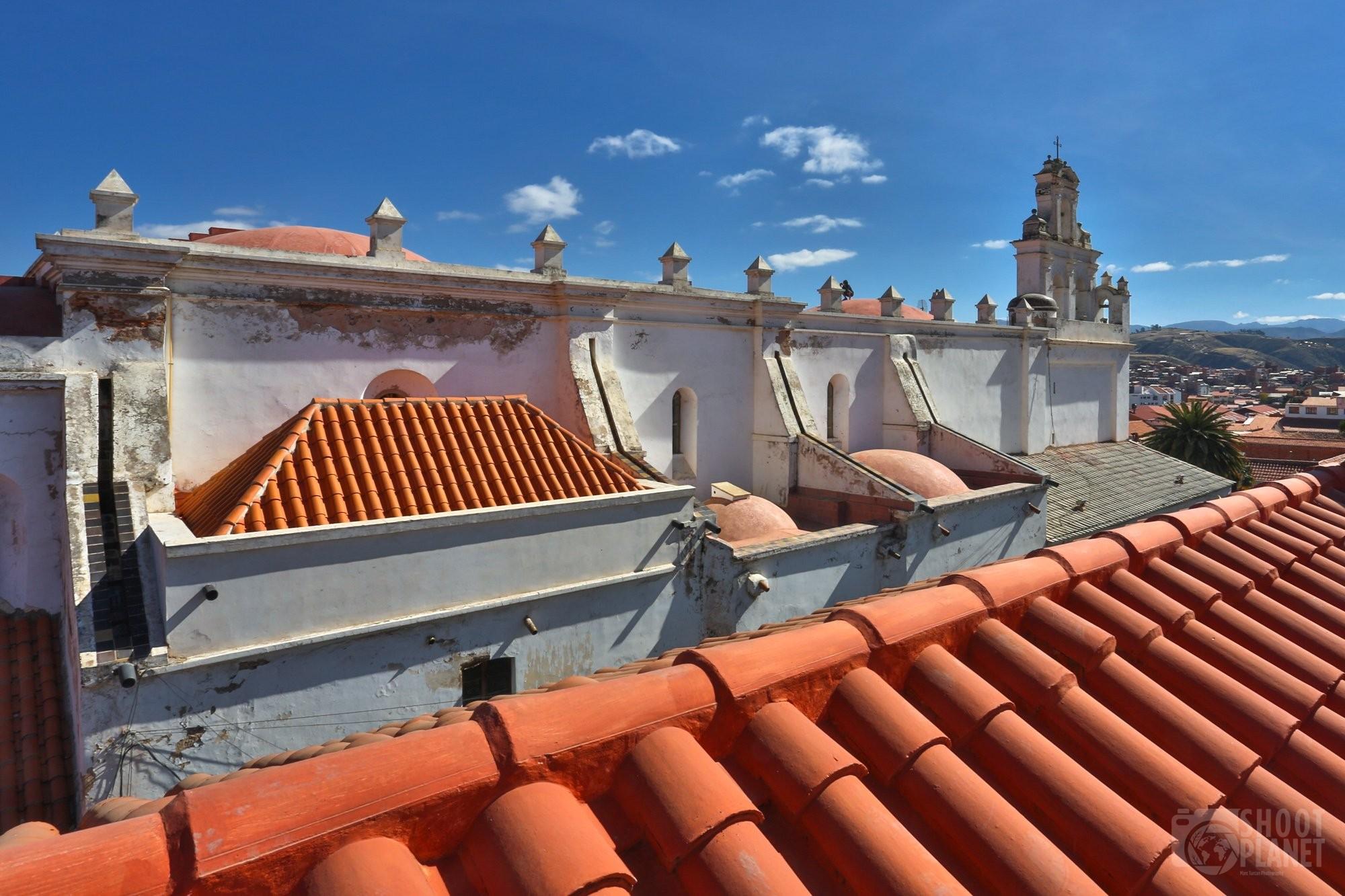 La Merced Church skyline, Sucre Bolivia