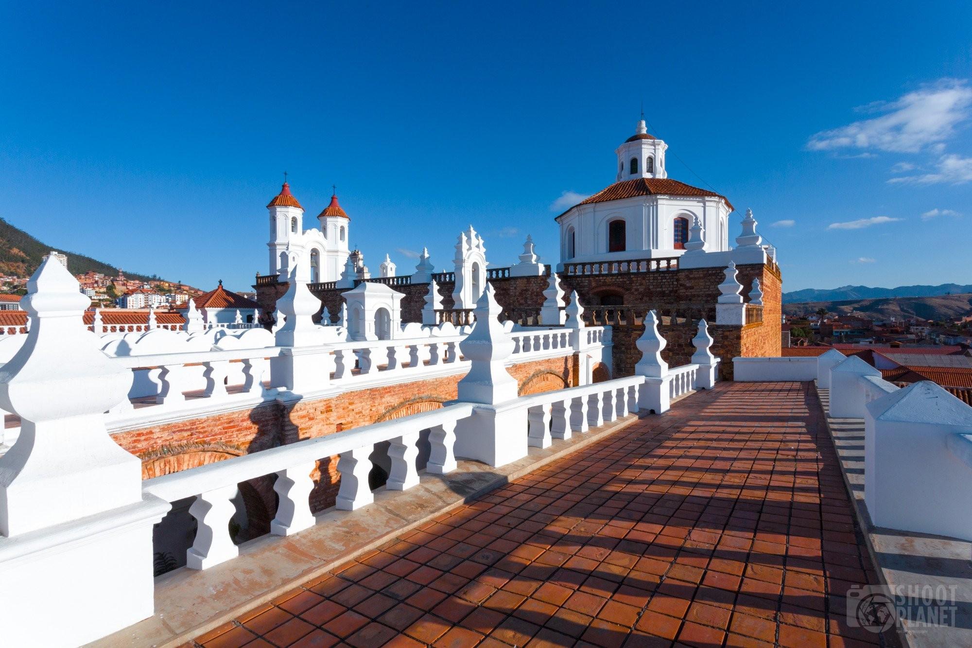 San Felipe Neri Monastery skyline, Sucre, Bolivia