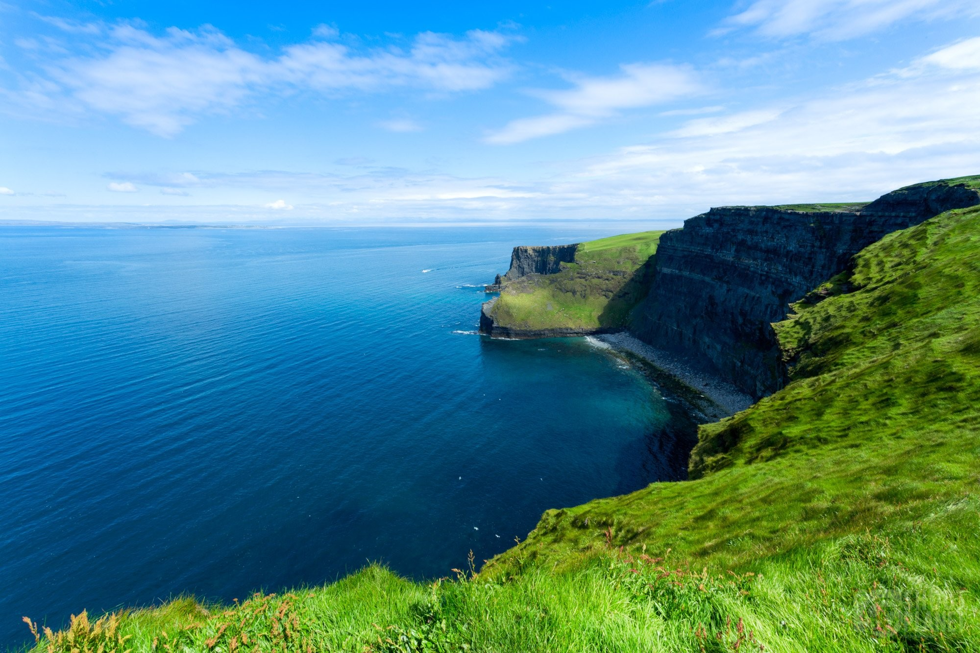 Cliffs of Moher landscape, Ireland Europe