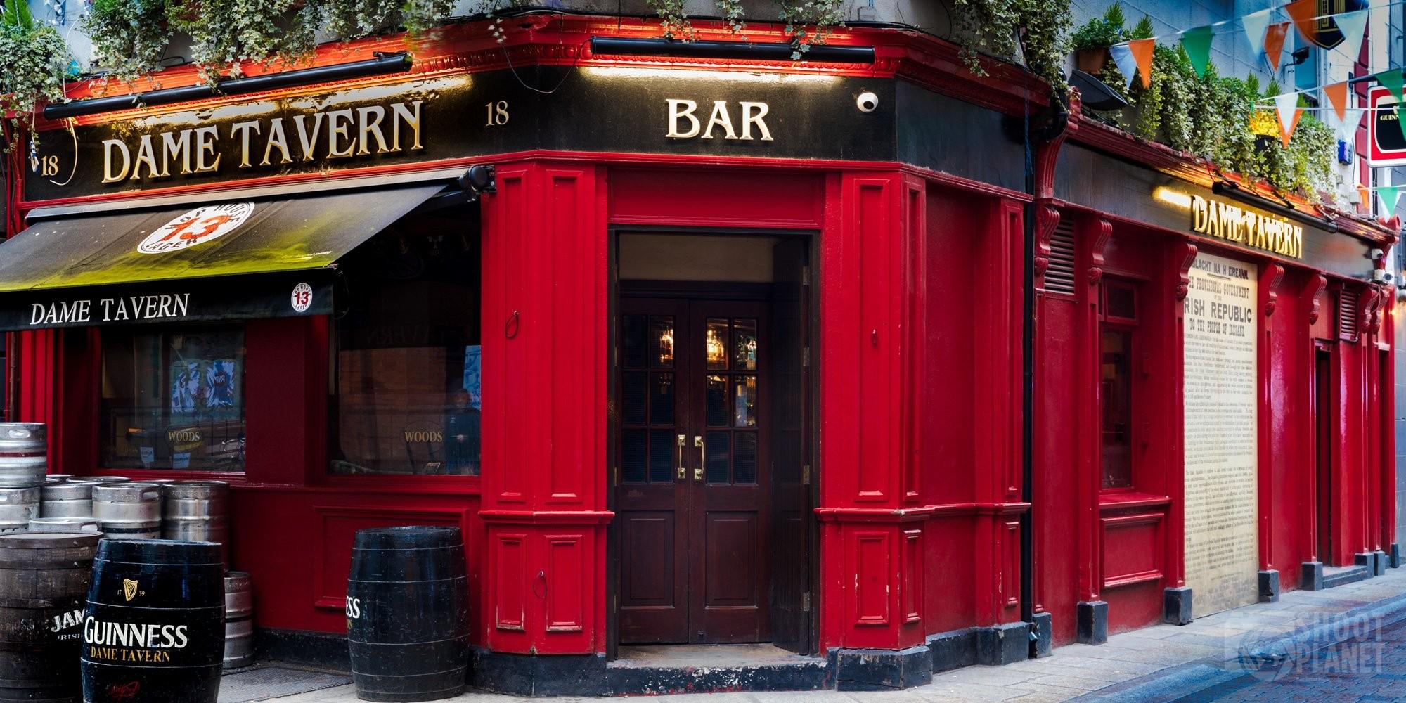 Dame Tavern pub in Dublin Ireland
