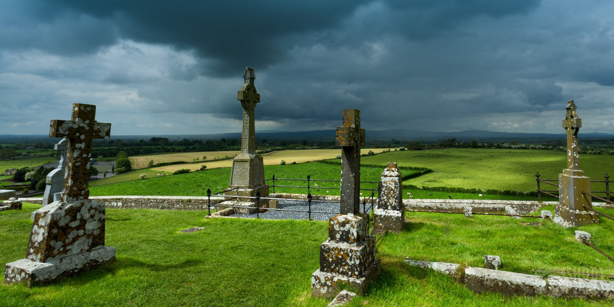 St. Patrick's Rock ancient cemetery, Ireland