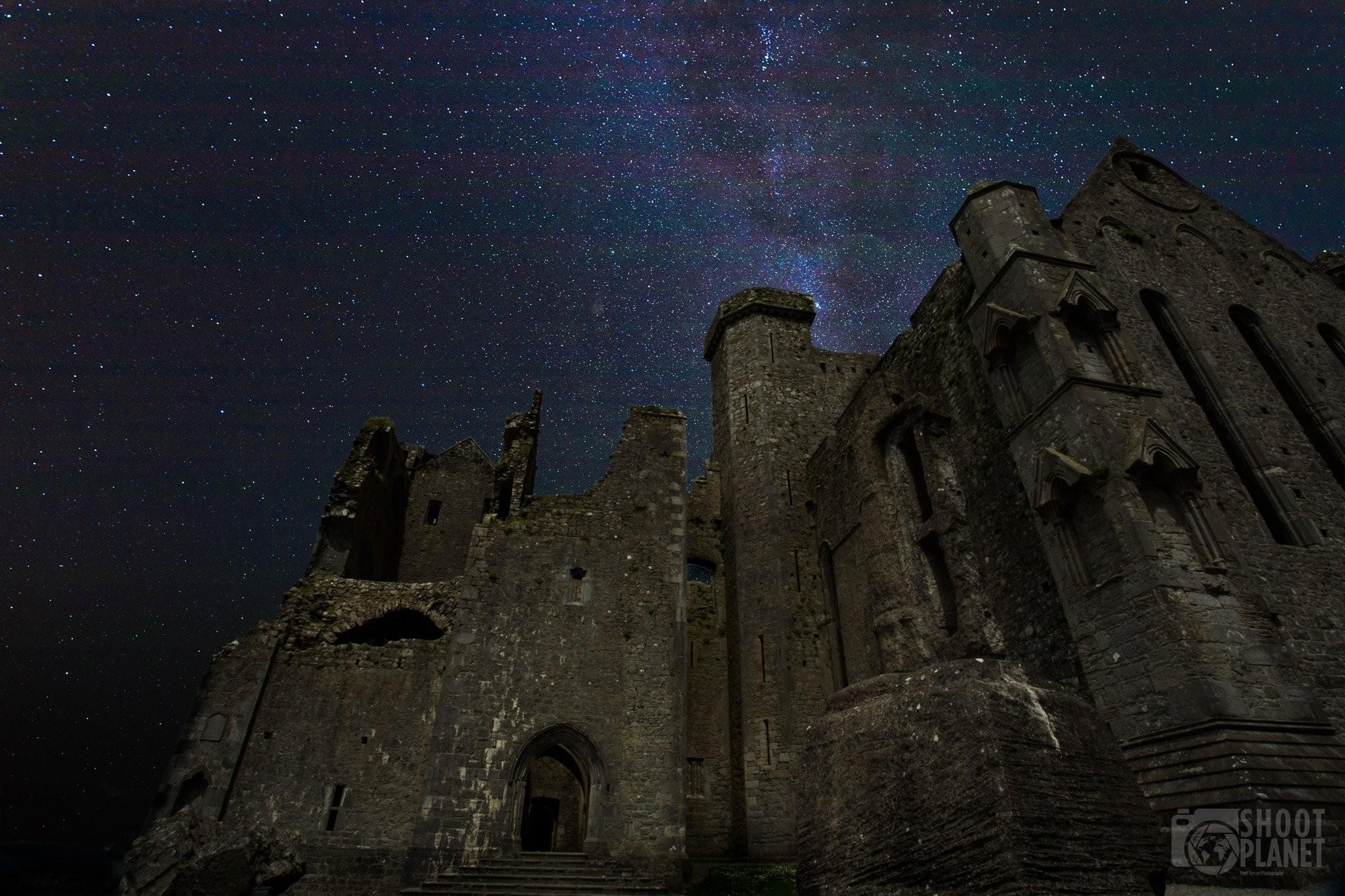 Rock of Cashel Milky Way, Ireland