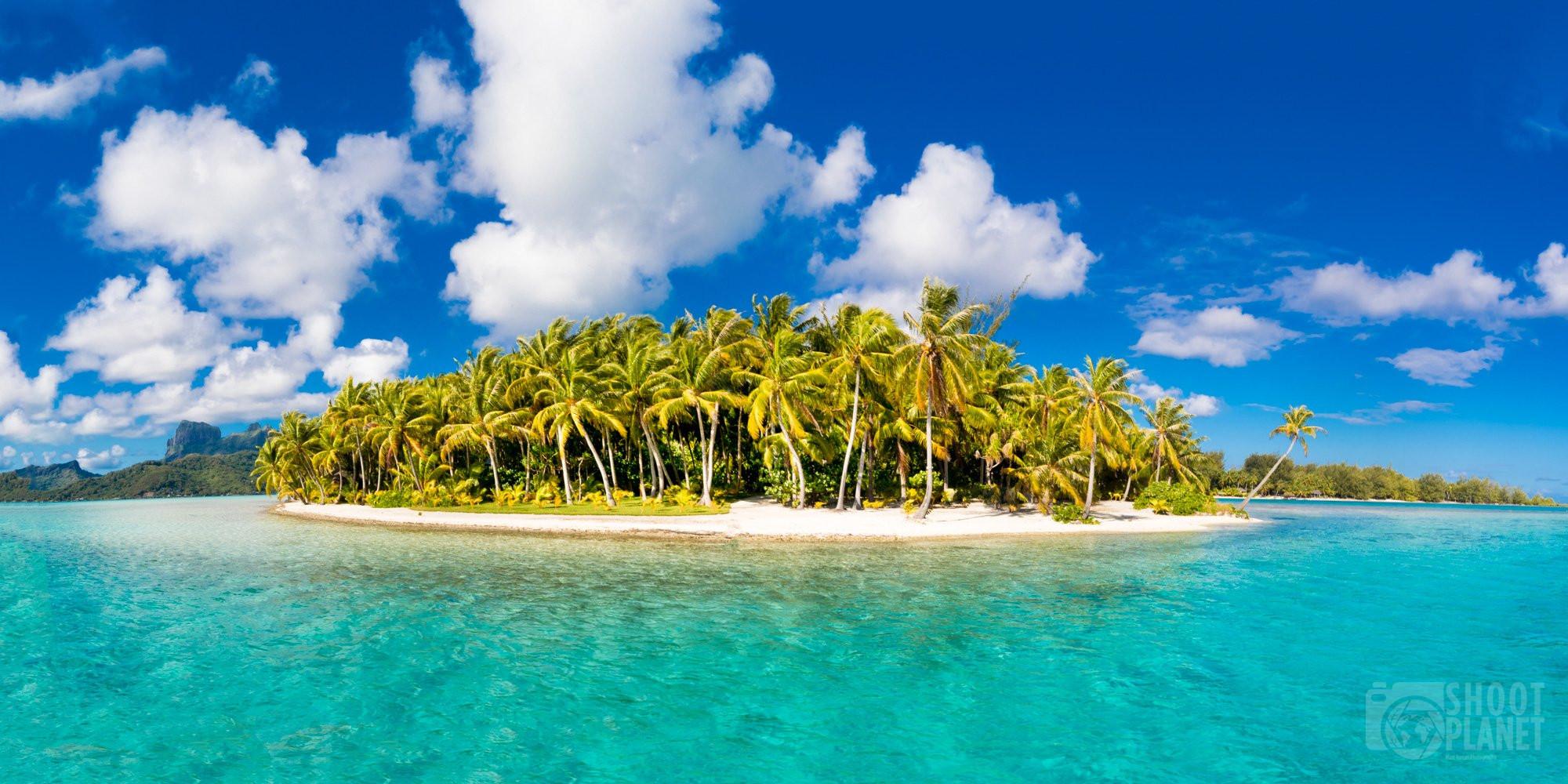 Motu Tane on Bora Bora island