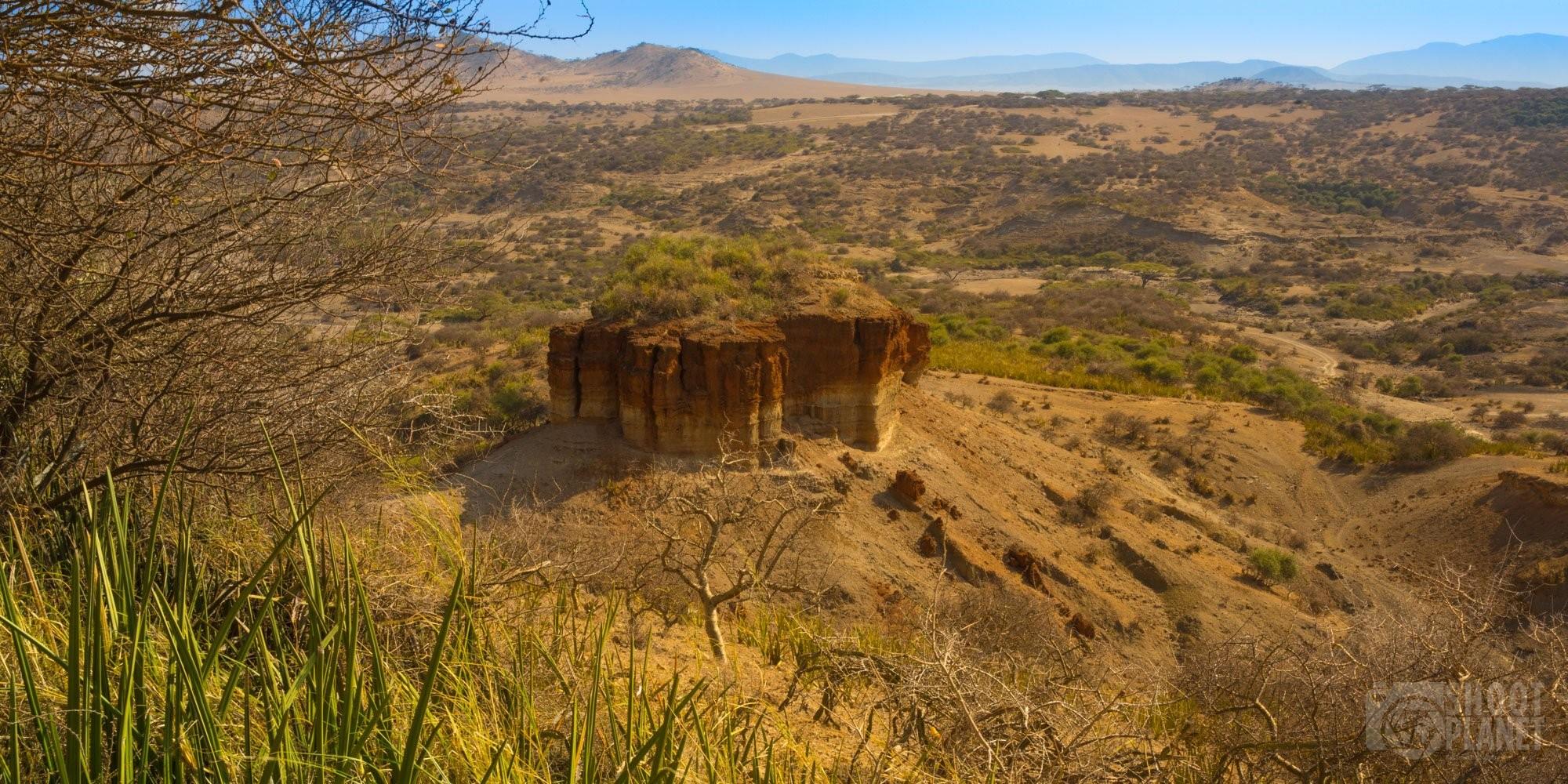 Olduvai Gorge, rift, Tanzania