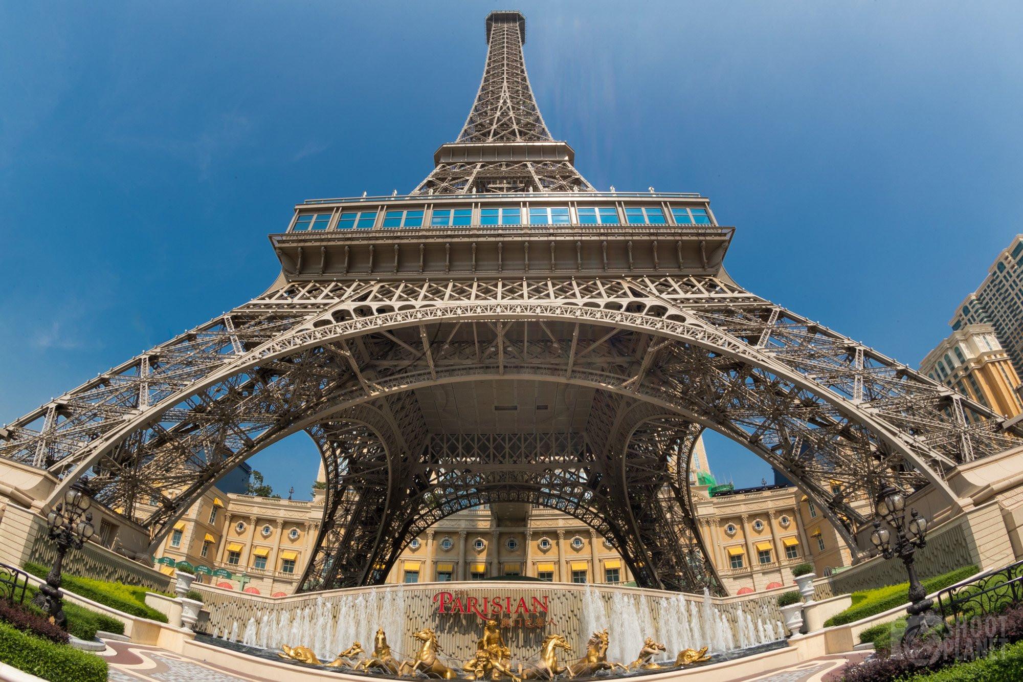 Eiffel Tower replica, Macao, China