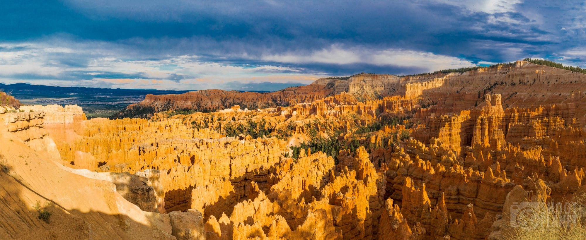 Bryce Canyon National Park sunset storm, USA