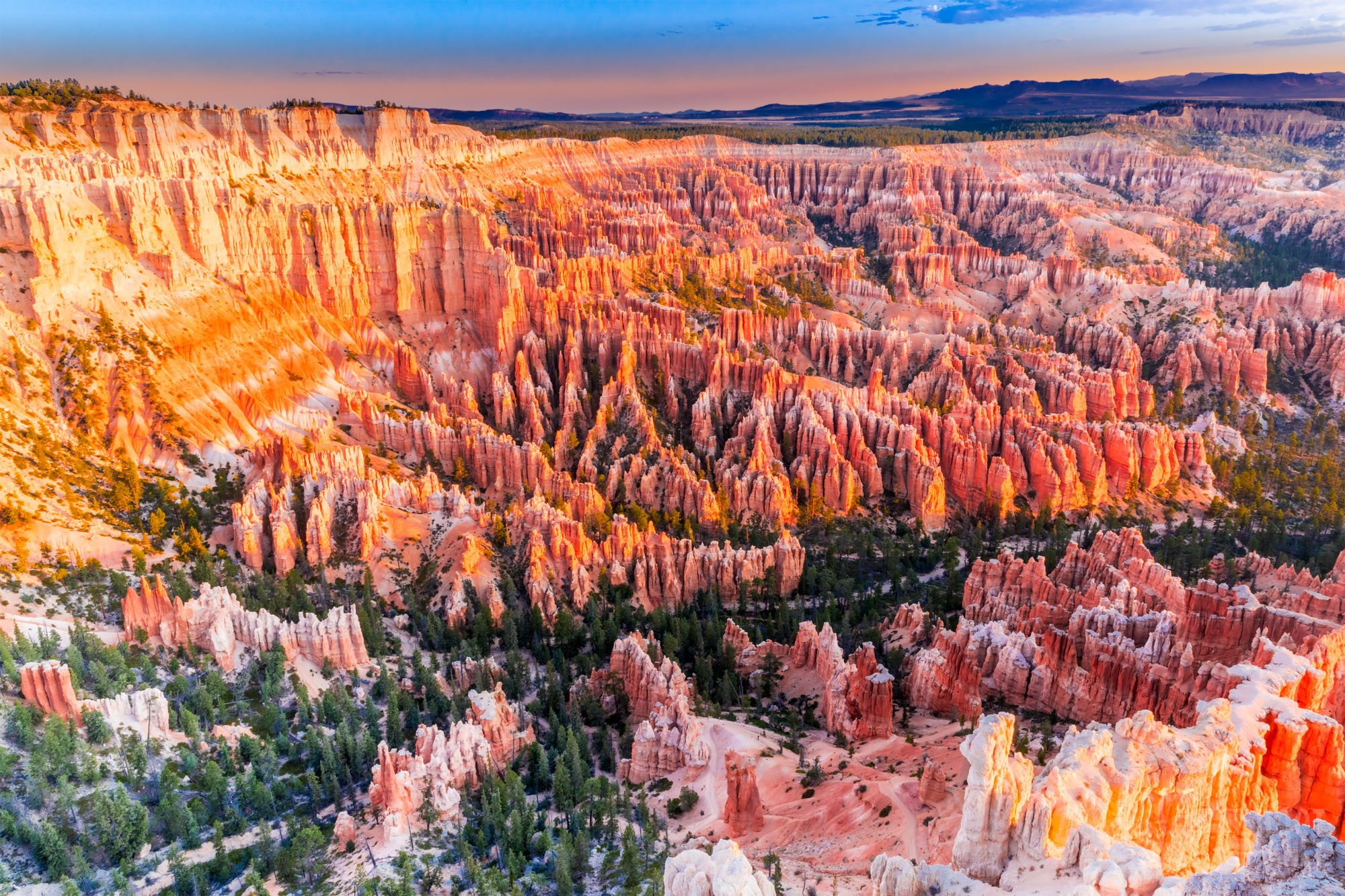 Bryce Canyon National Park sunrise, USA