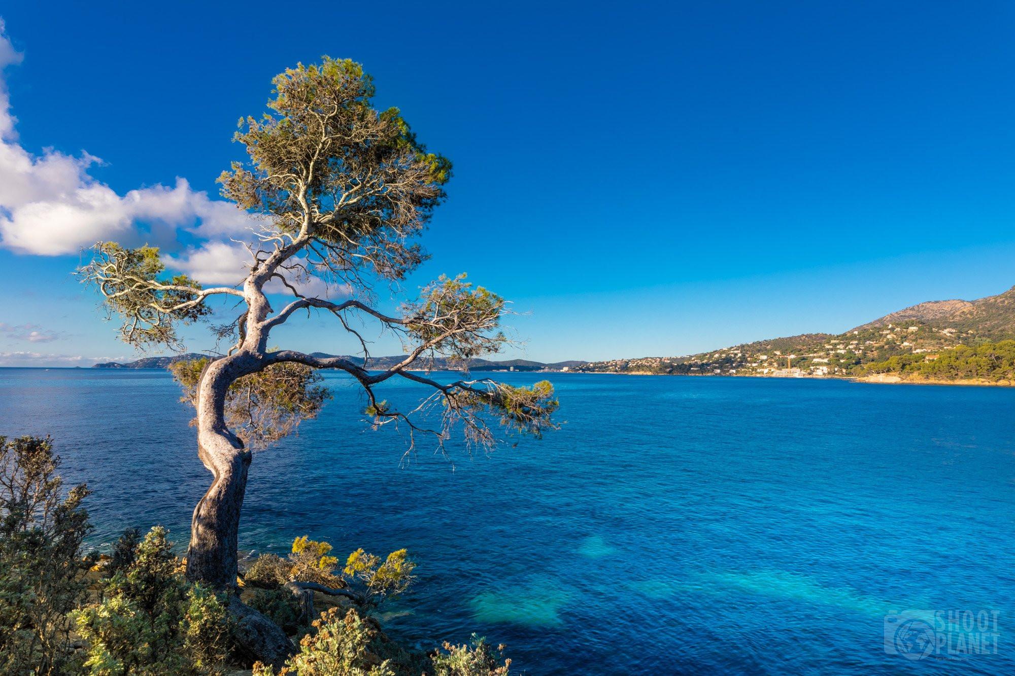 Pointe du layet seascape, Azure coast France