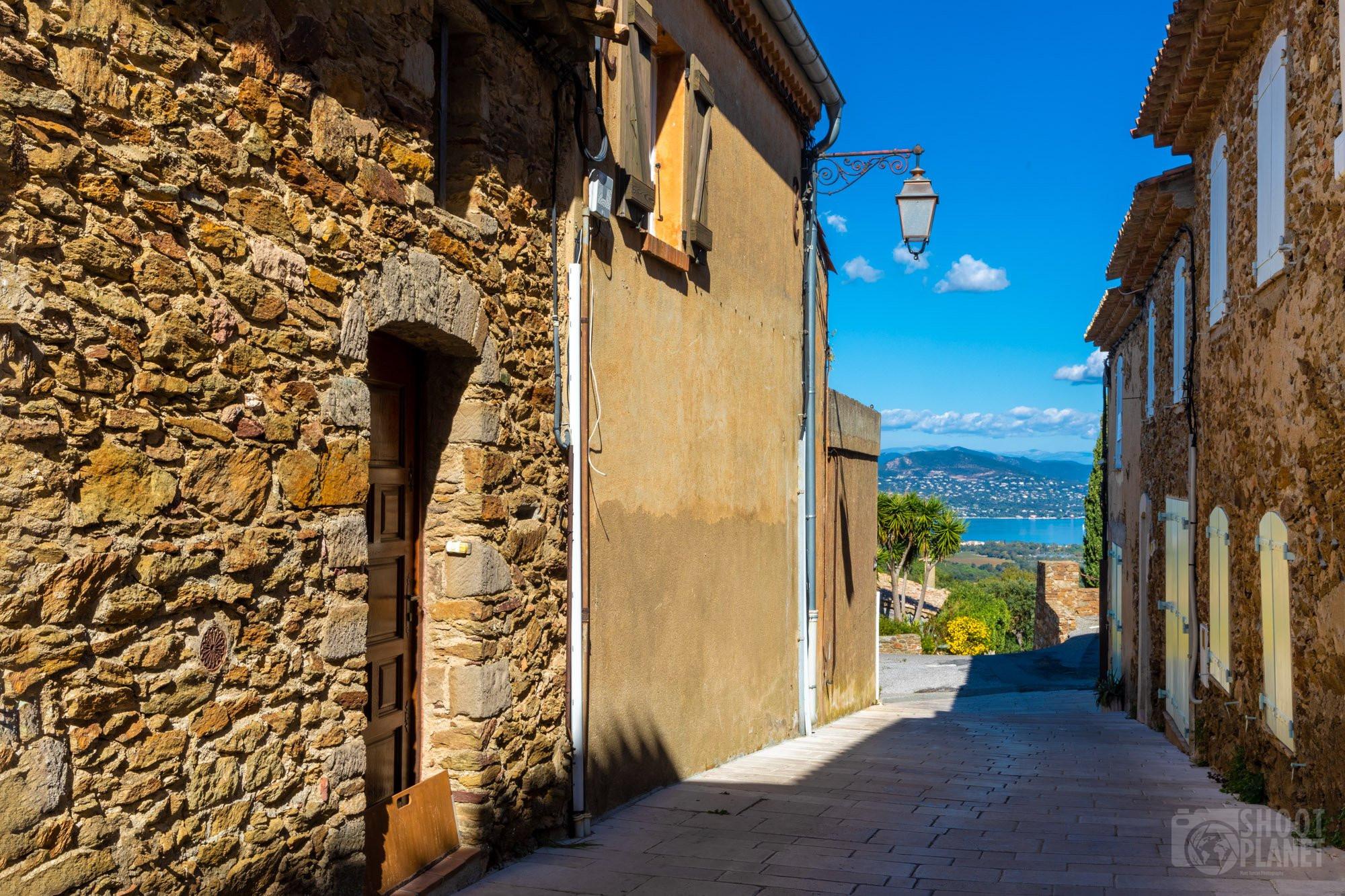 Gassin ancient village, near Saint-Tropez, France