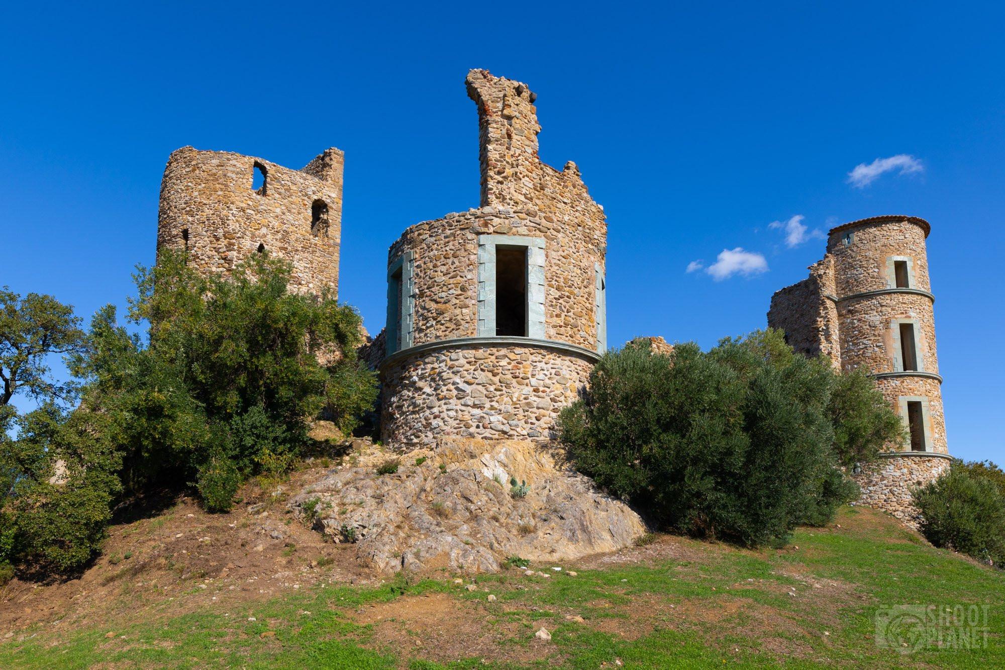 Grimaud village, near Saint Tropez, France