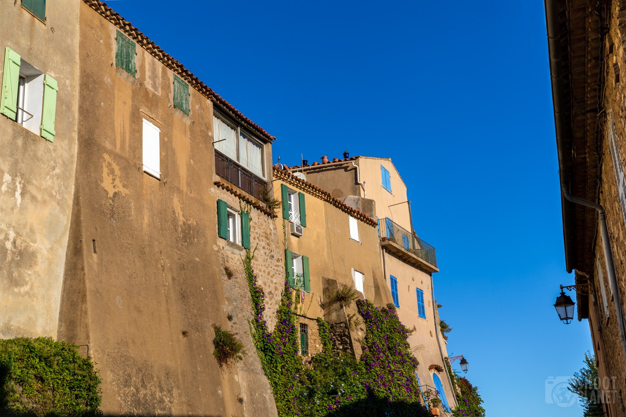 Ramatuelle village, near Saint Tropez, France
