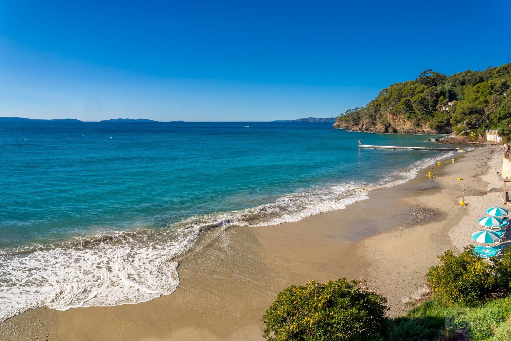 Rayol Beach, Rayol Canadel Azure Coast France