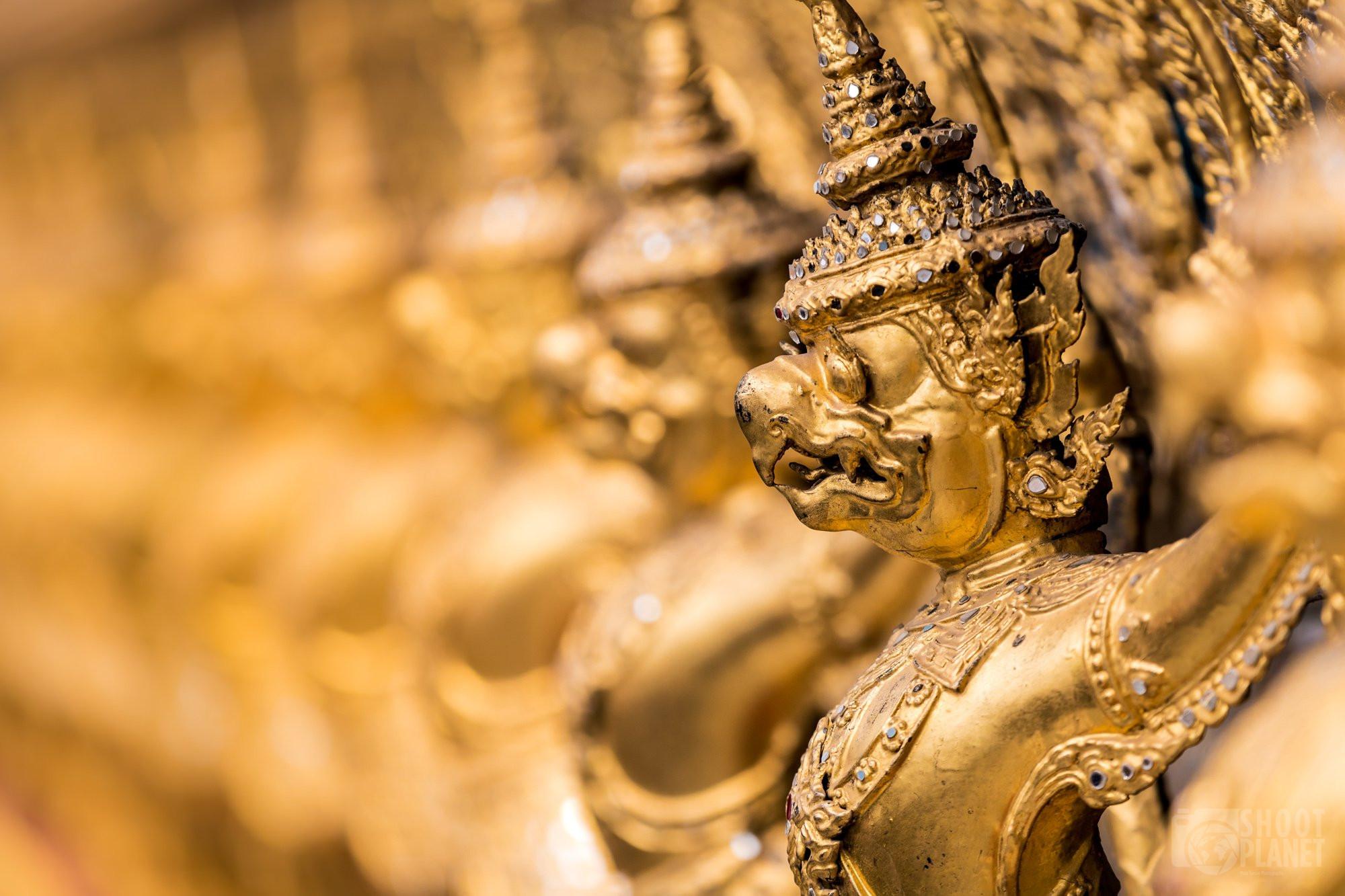 Wat Phra Kaew temple Garuda, Bangkok Thailand