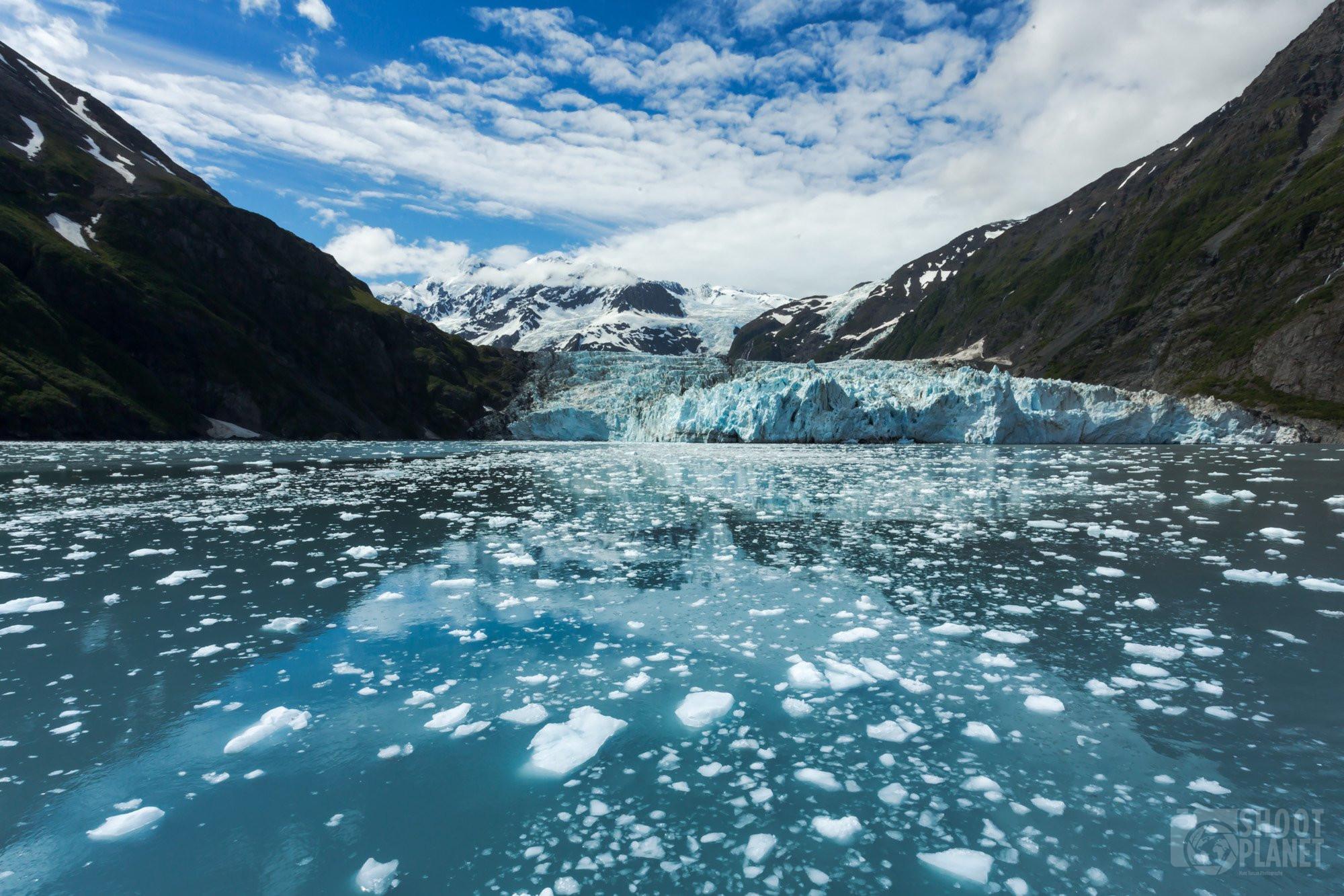 Harvard Glacier College Fjord, Kenai Fjords Alaska