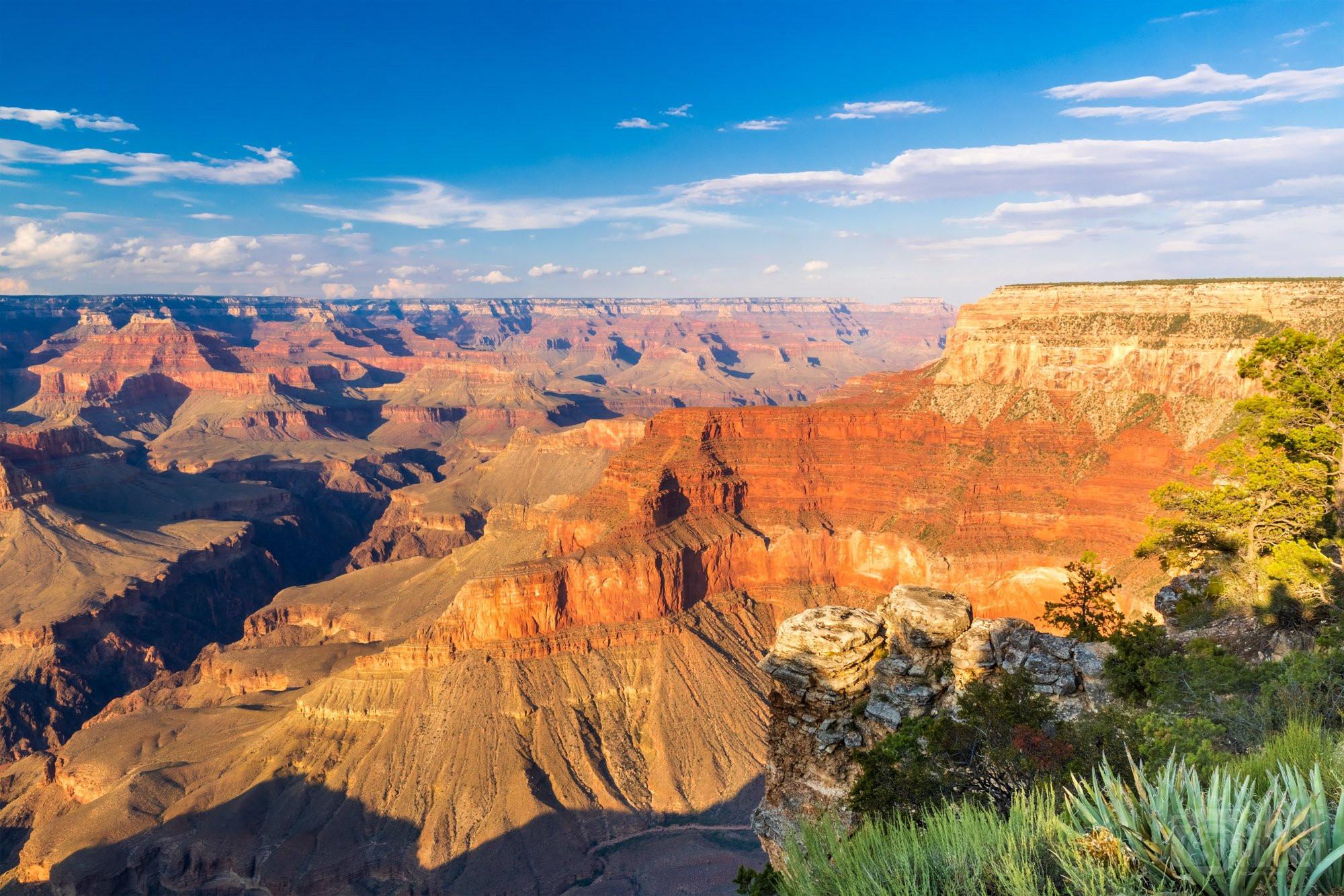 Sunset on the Grand Canyon, Arizona USA