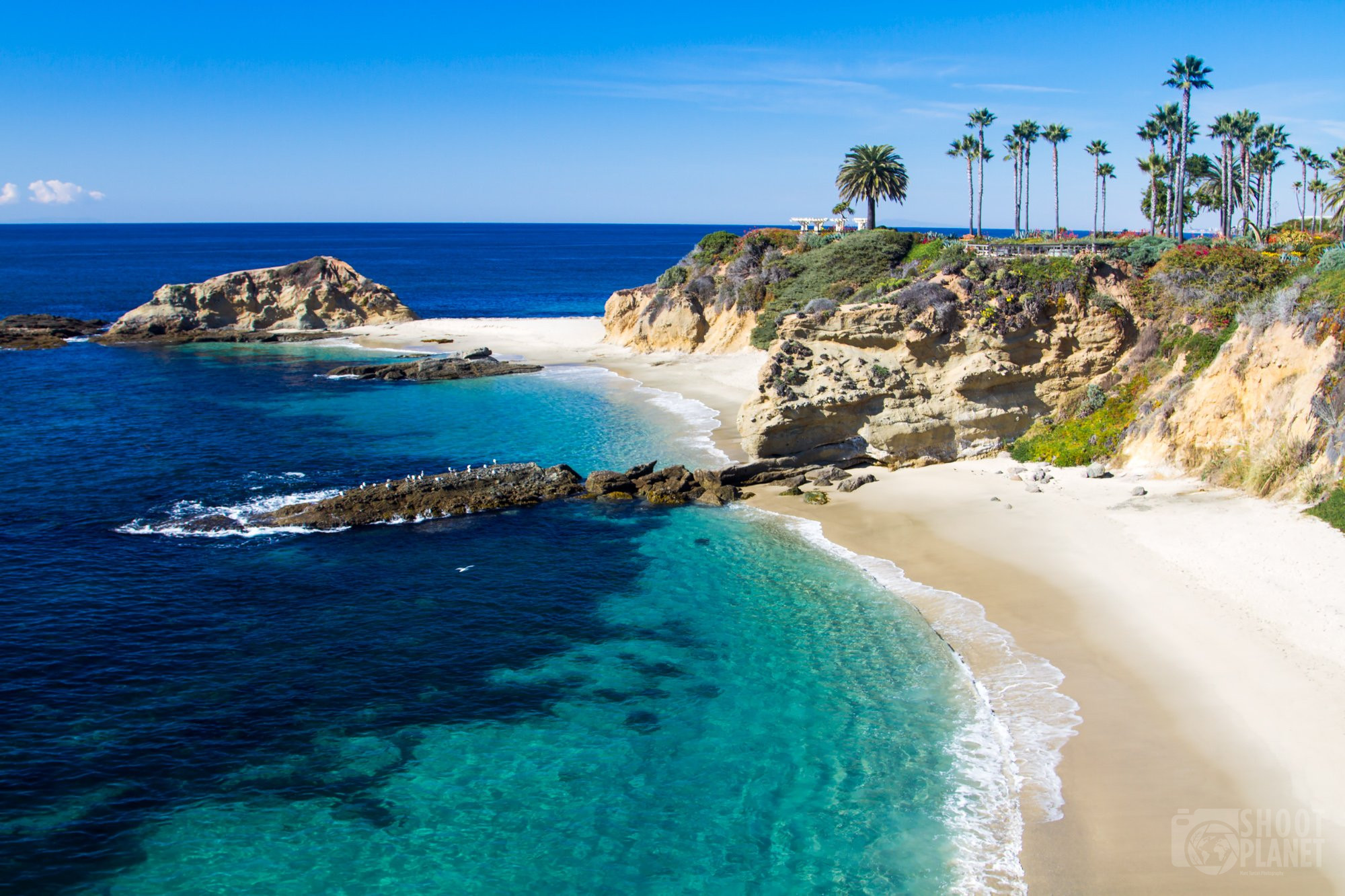 Treasure Island beach, Laguna Beach, California USA
