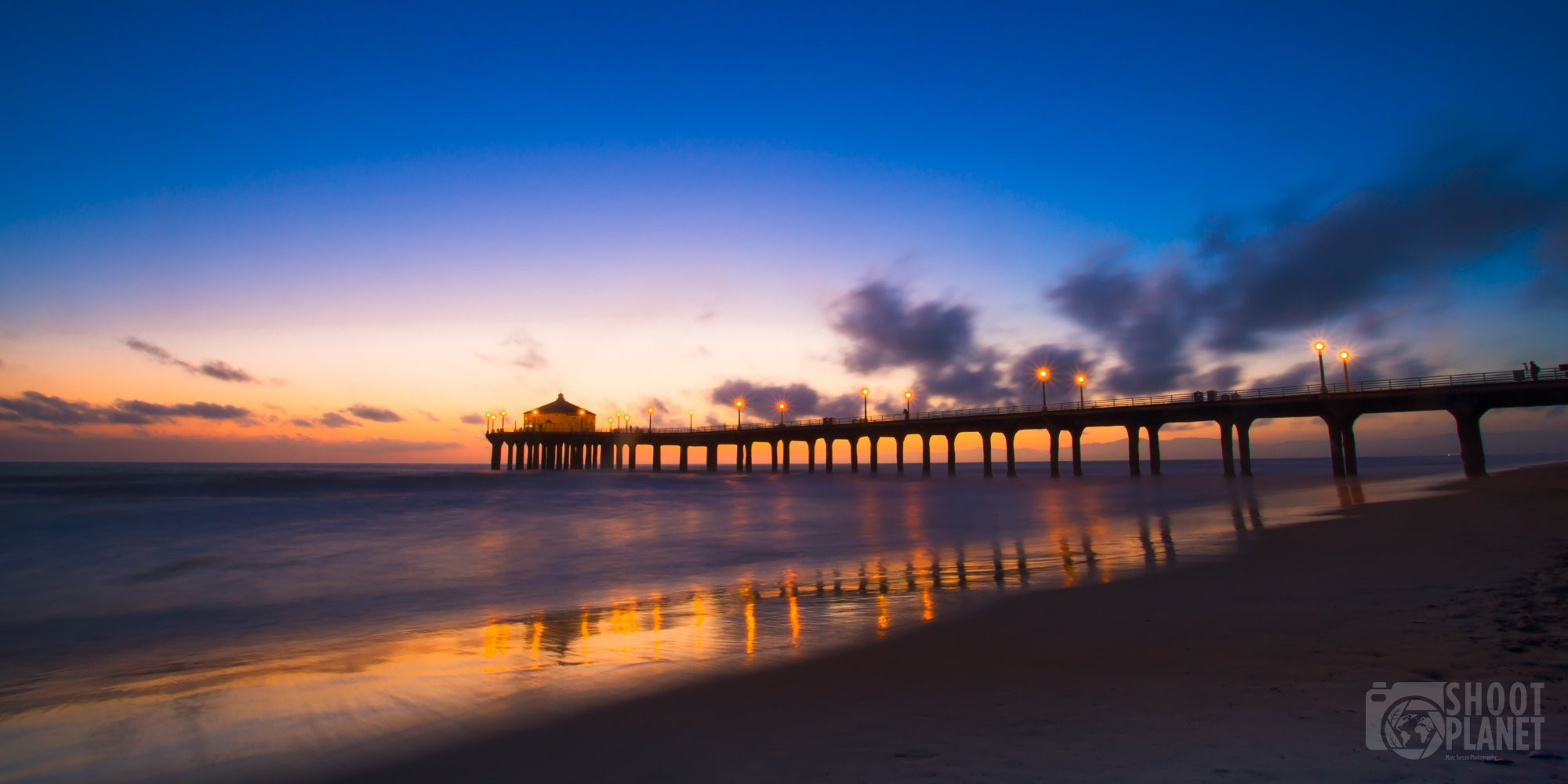 Manhattan Beach sunset, Los Angeles California
