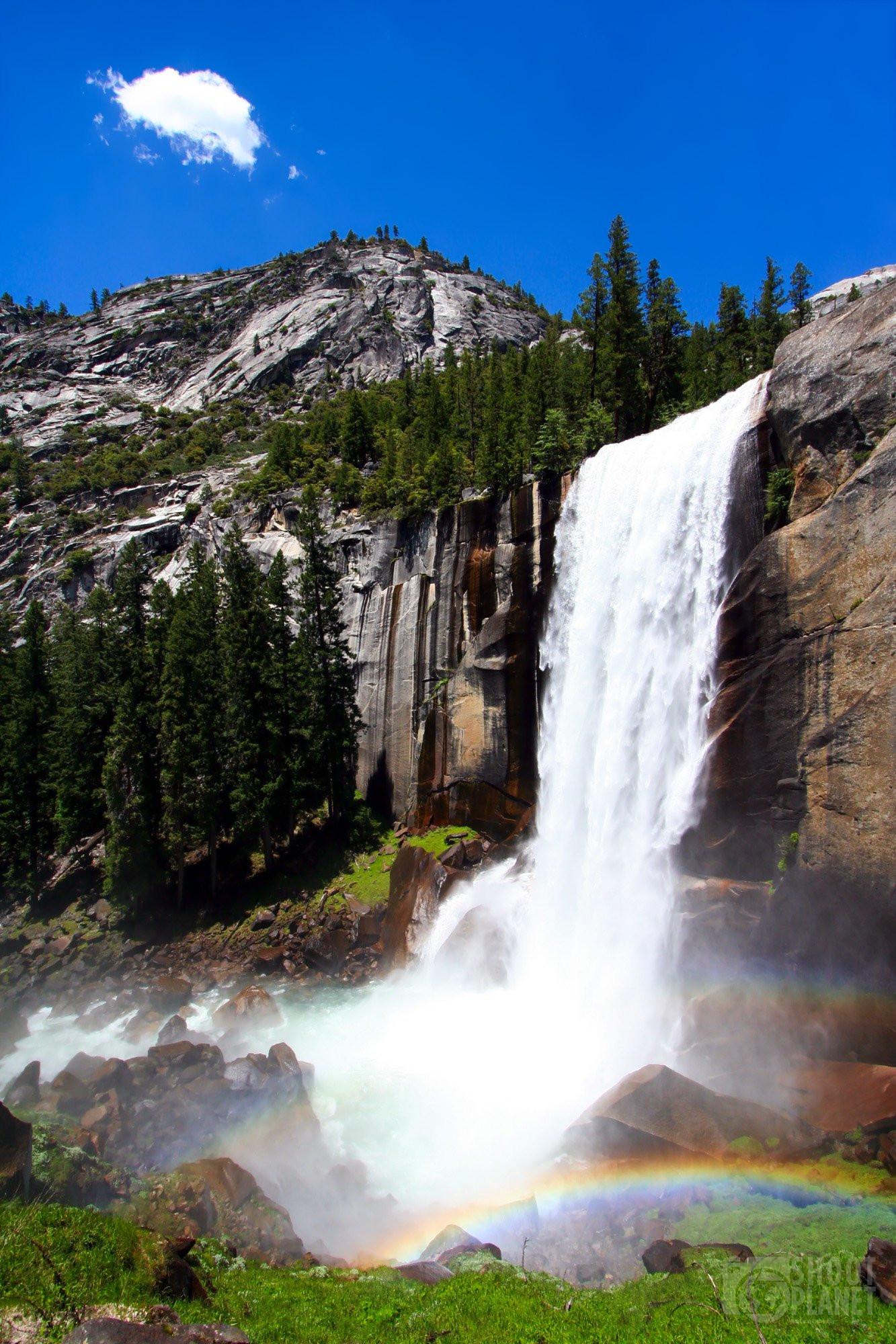 Vernal Fall rainbow, Yosemite National Park, California