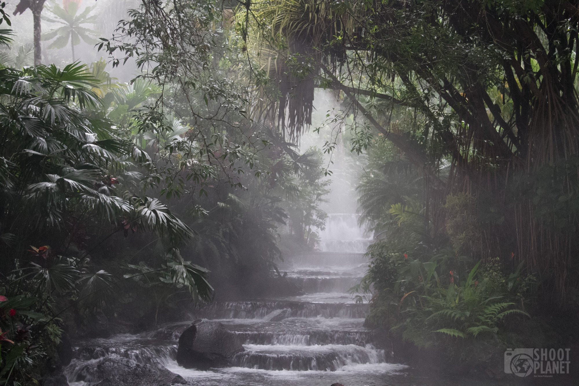 Rainforest Thermal spring, Costa Rica