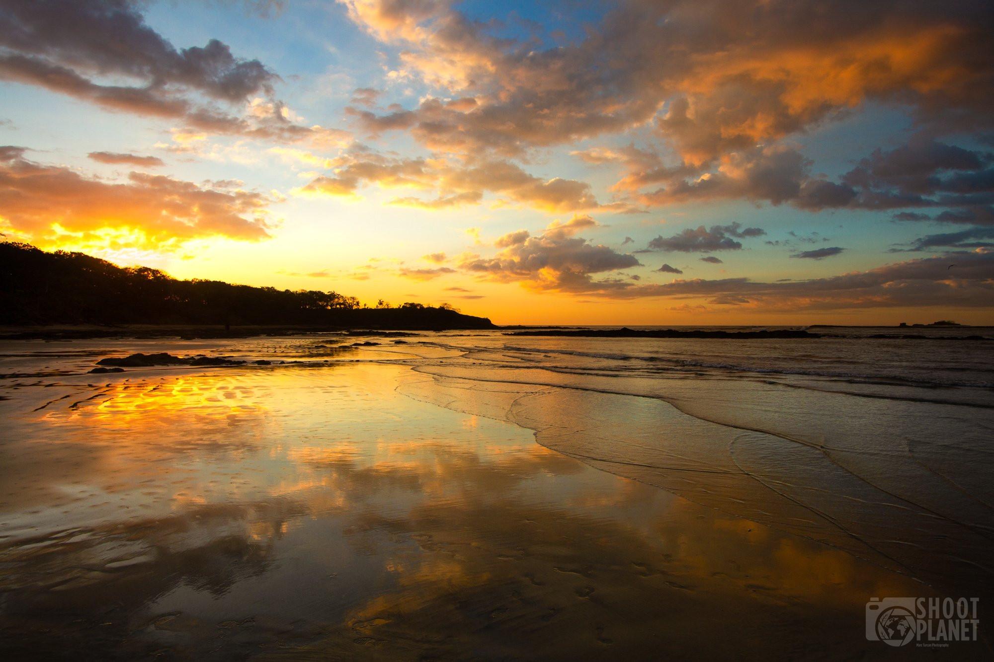 Tamarindo Beach sunset, Costa Rica