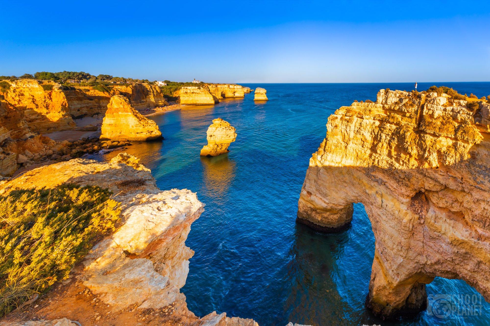 Marinha and Mesquita beaches, Carvoeiro Algarve Portugal