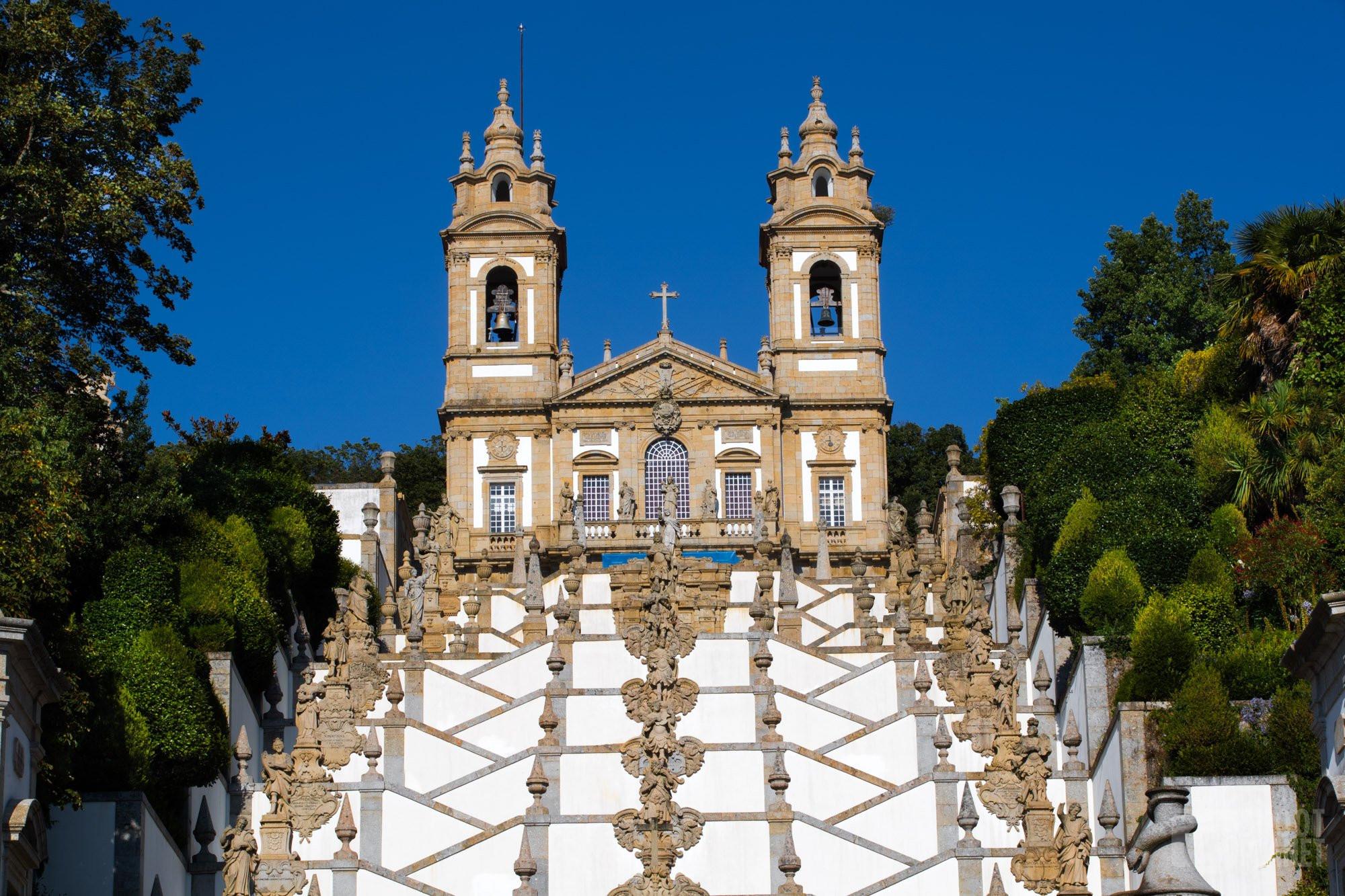 Bom Jesus do Monte sanctuary stairway, Portugal