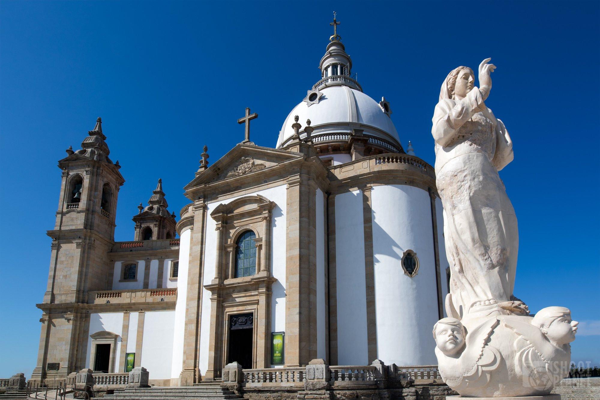 Sanctuary of Sameiro in Braga Portugal, Europe