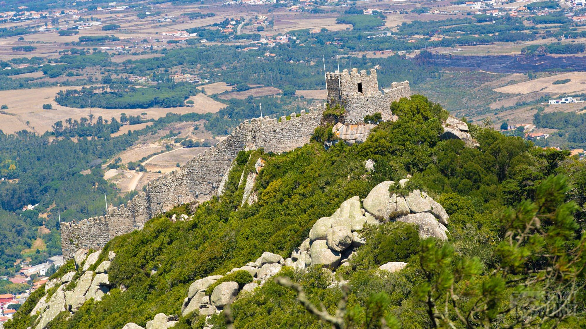 Castelo dos Mouros, Cintra Portugal