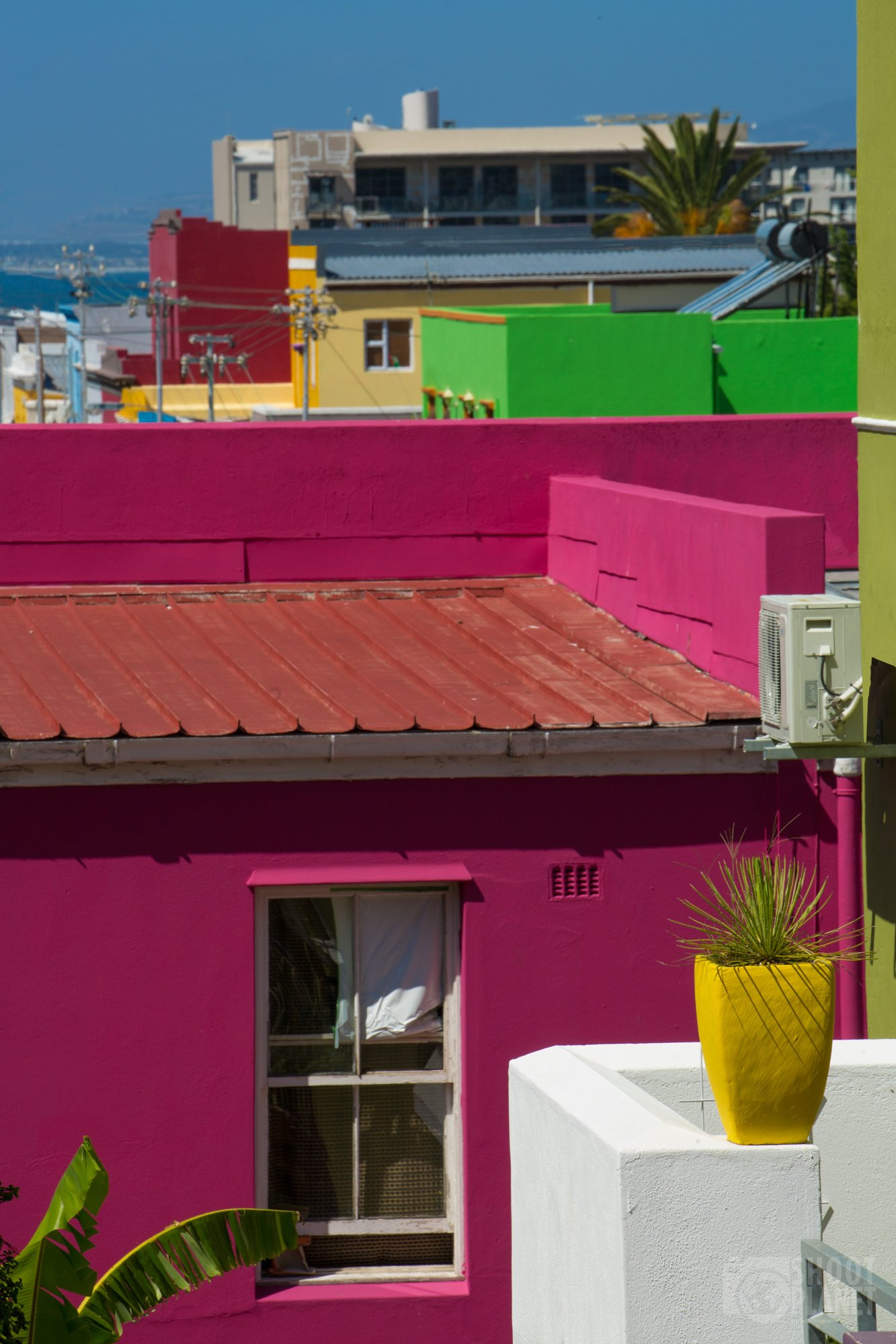 Bo-Kaap colors, Cape Town South Africa