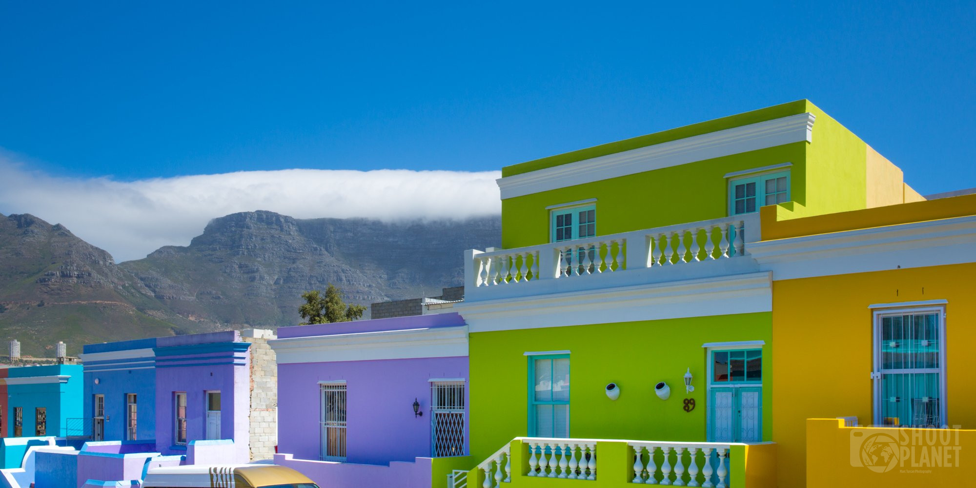 Bo-Kaap quarter, Cape Town South Africa