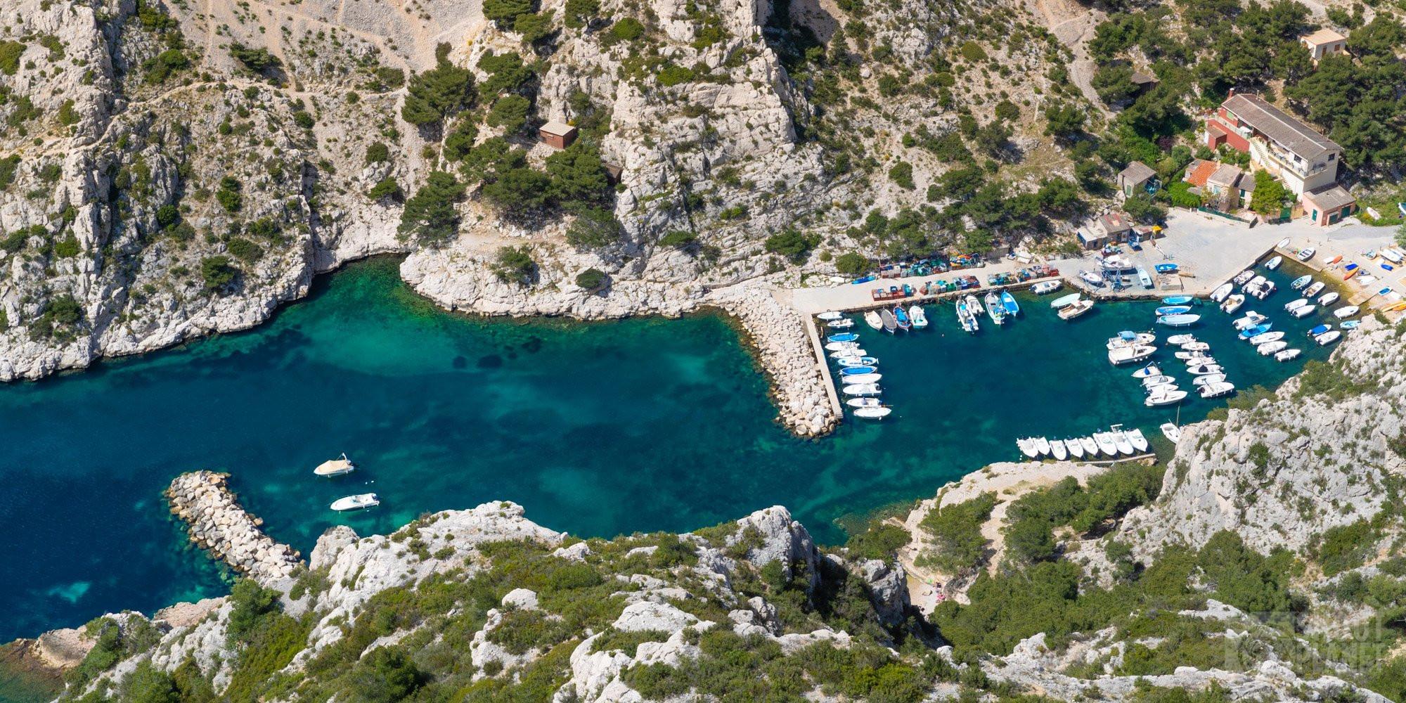 Sugiton viewpoint, Morgiou harbor Azure coast France