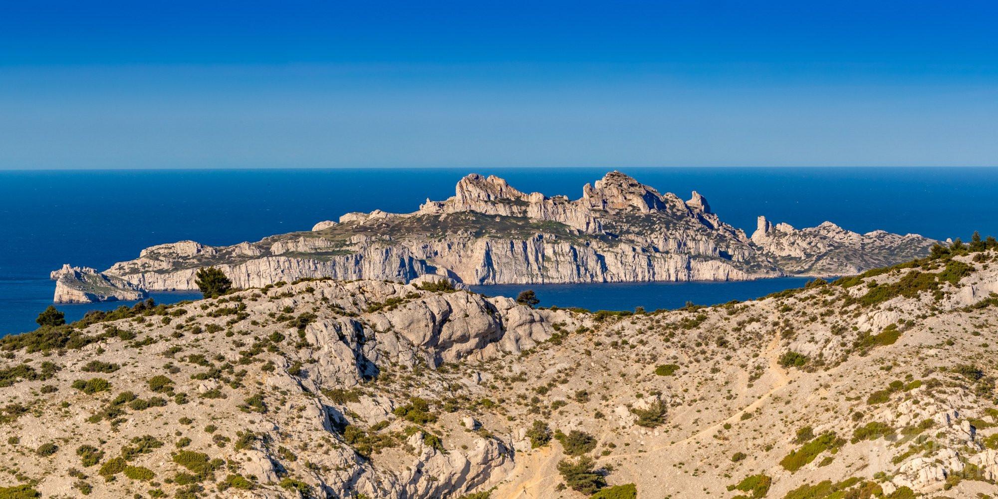 Sugiton viewpoint, Riun island Azure coast France