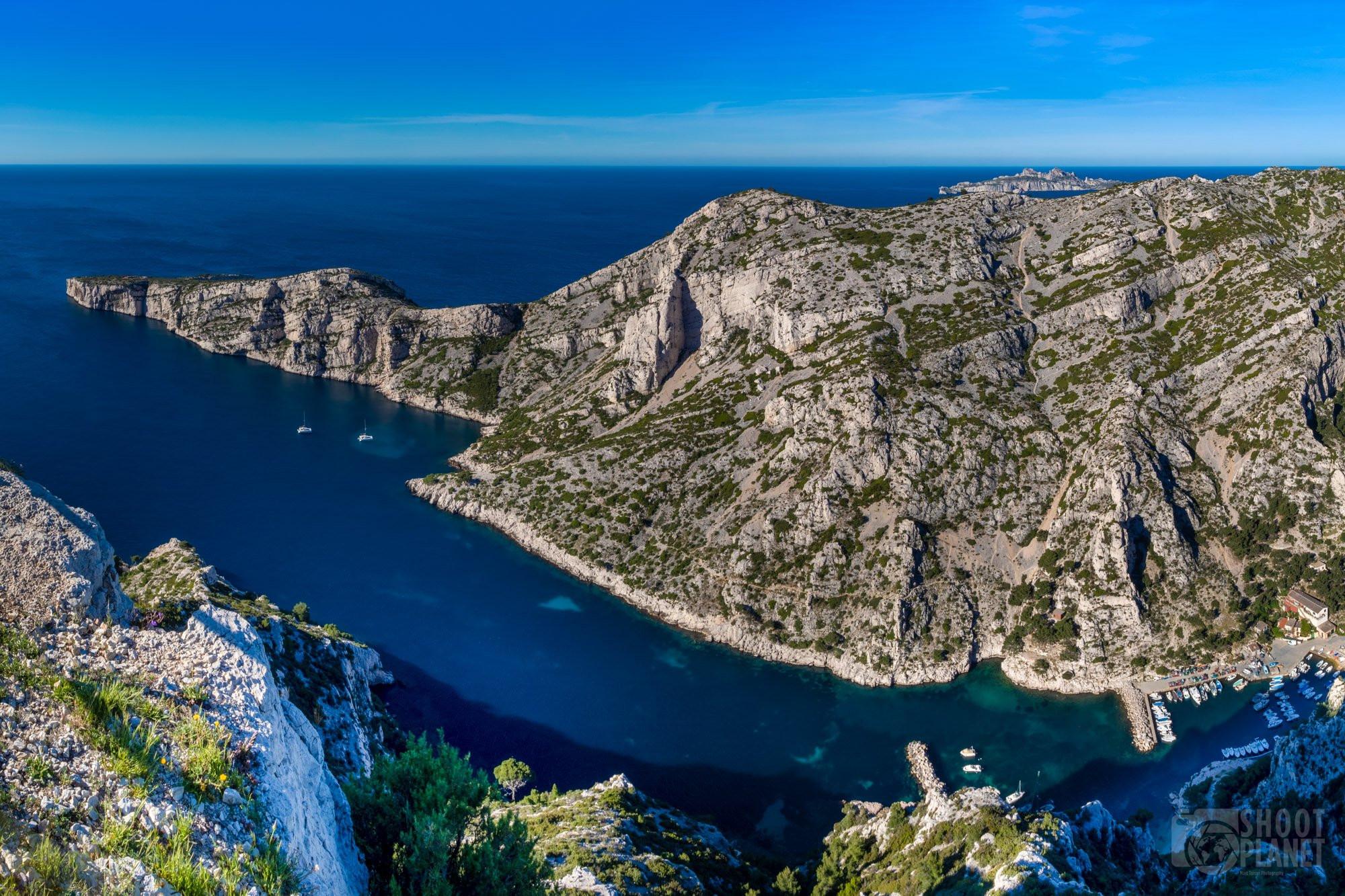 sugiton viewpoint panorama, Azure coast France