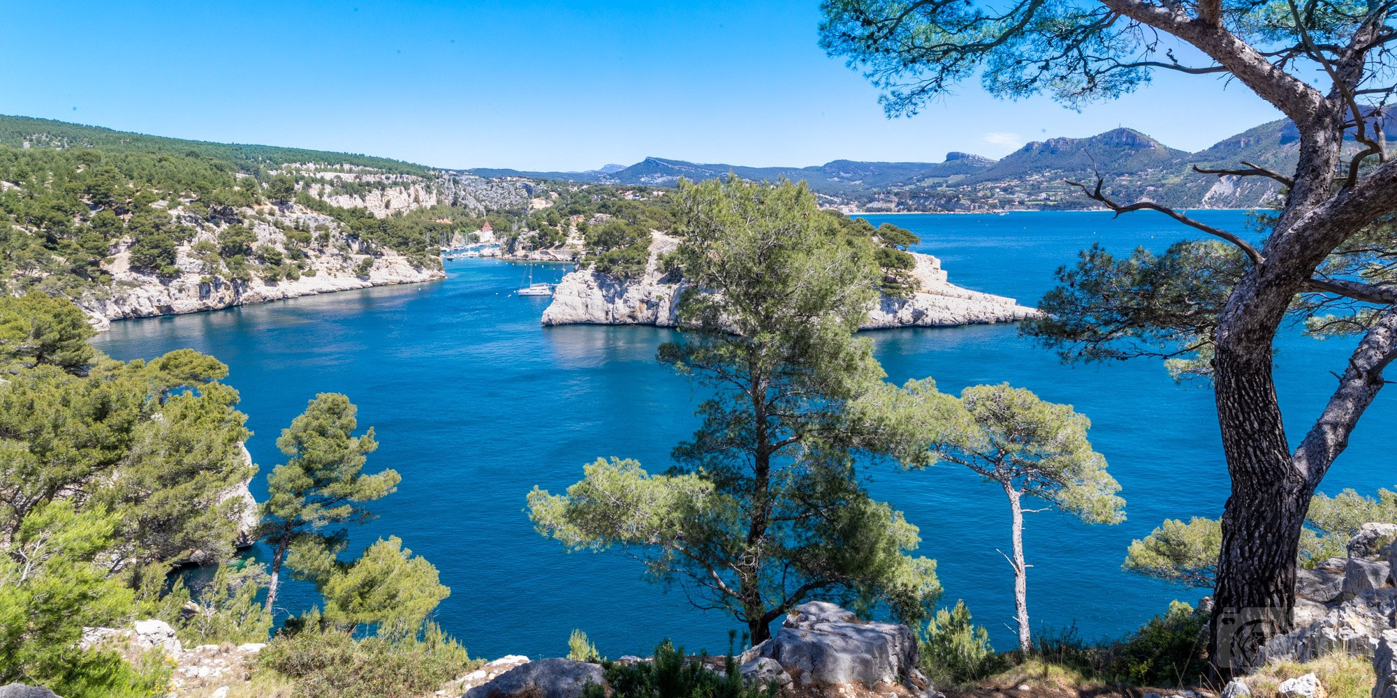 Port-Miou Calanque, Azure coast France