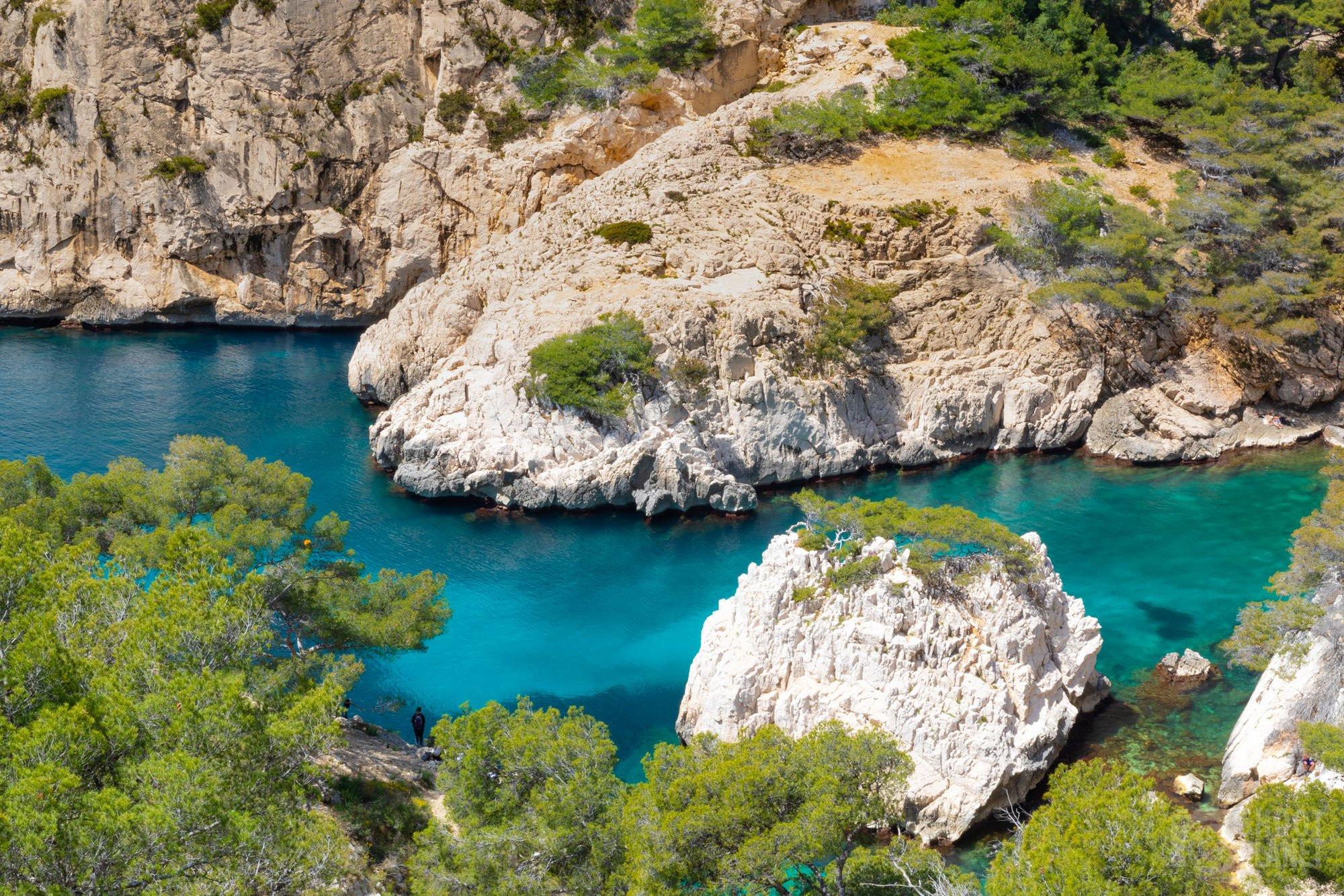 Sugiton Calanque colors, Azure coast FranceSugiton Calanque colors, Azure coast France