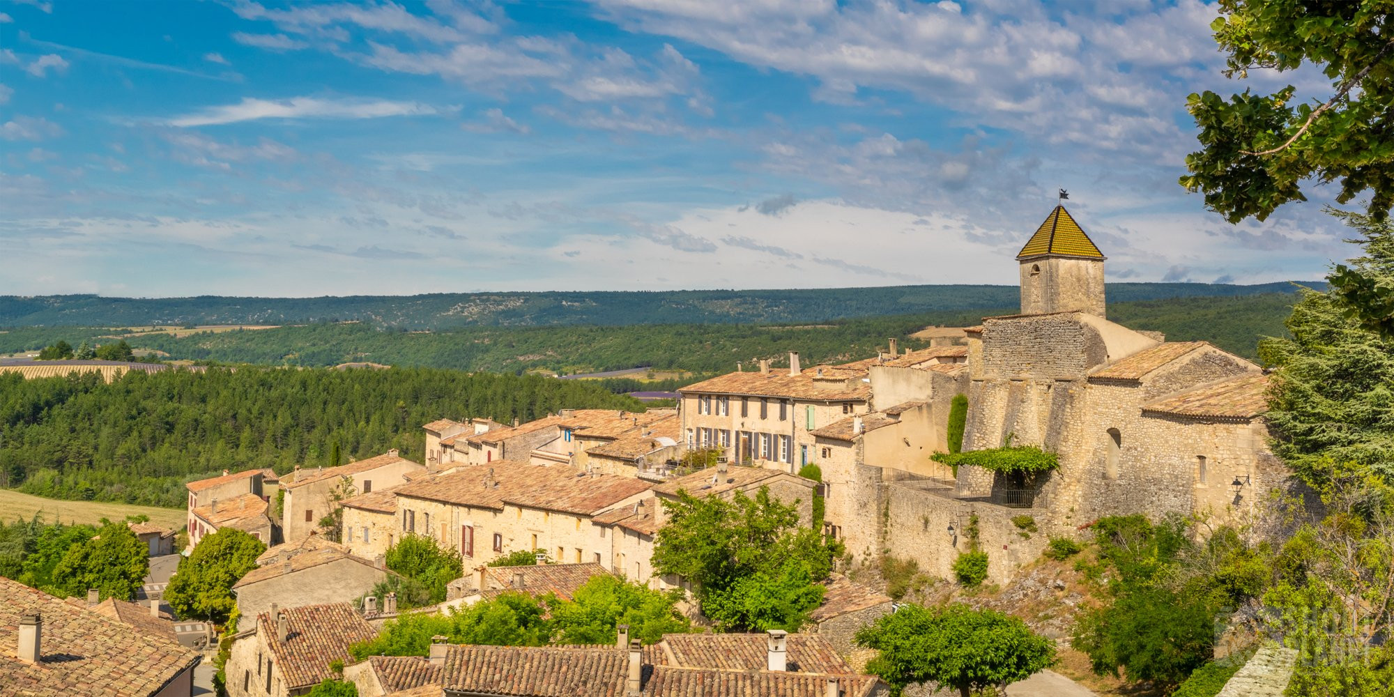 Aurel Provencal ancient village, Drome France