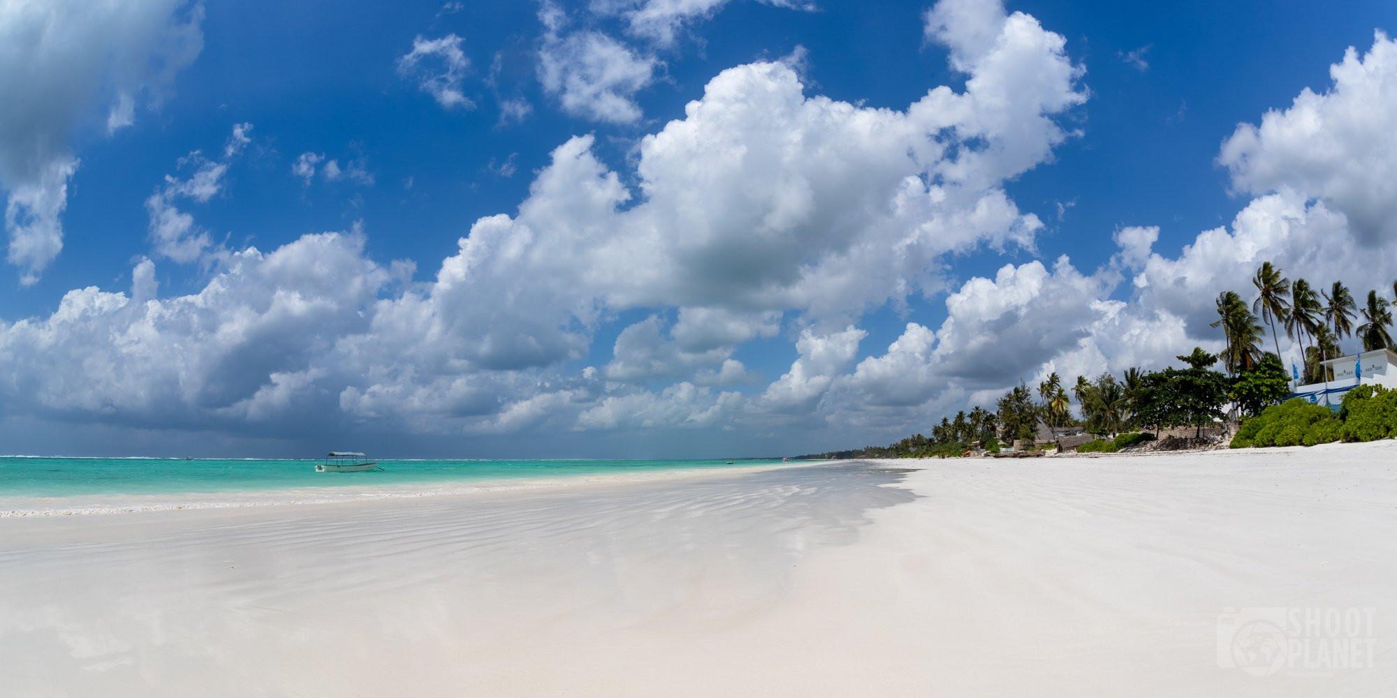 Matemwe pristine deserted beach Zanzibar Tanzania