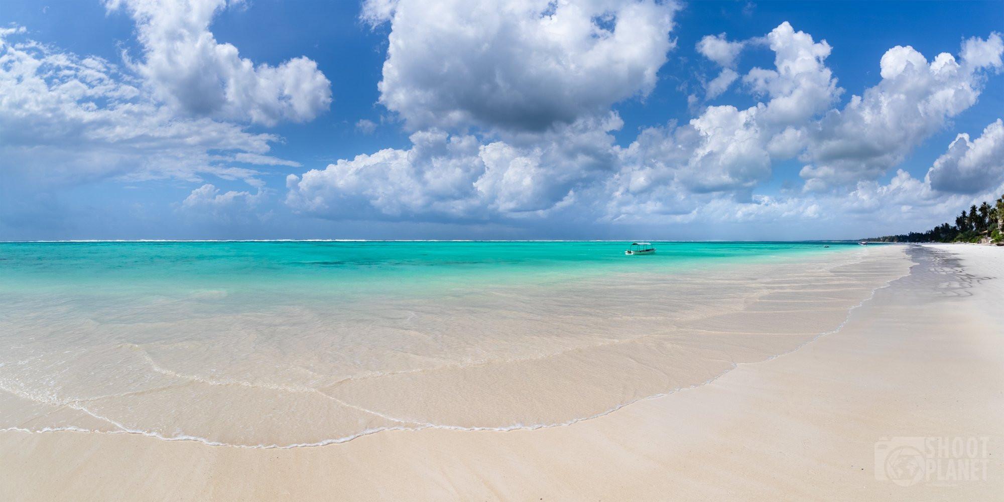 Matemwe deserted beach Zanzibar Tanzania