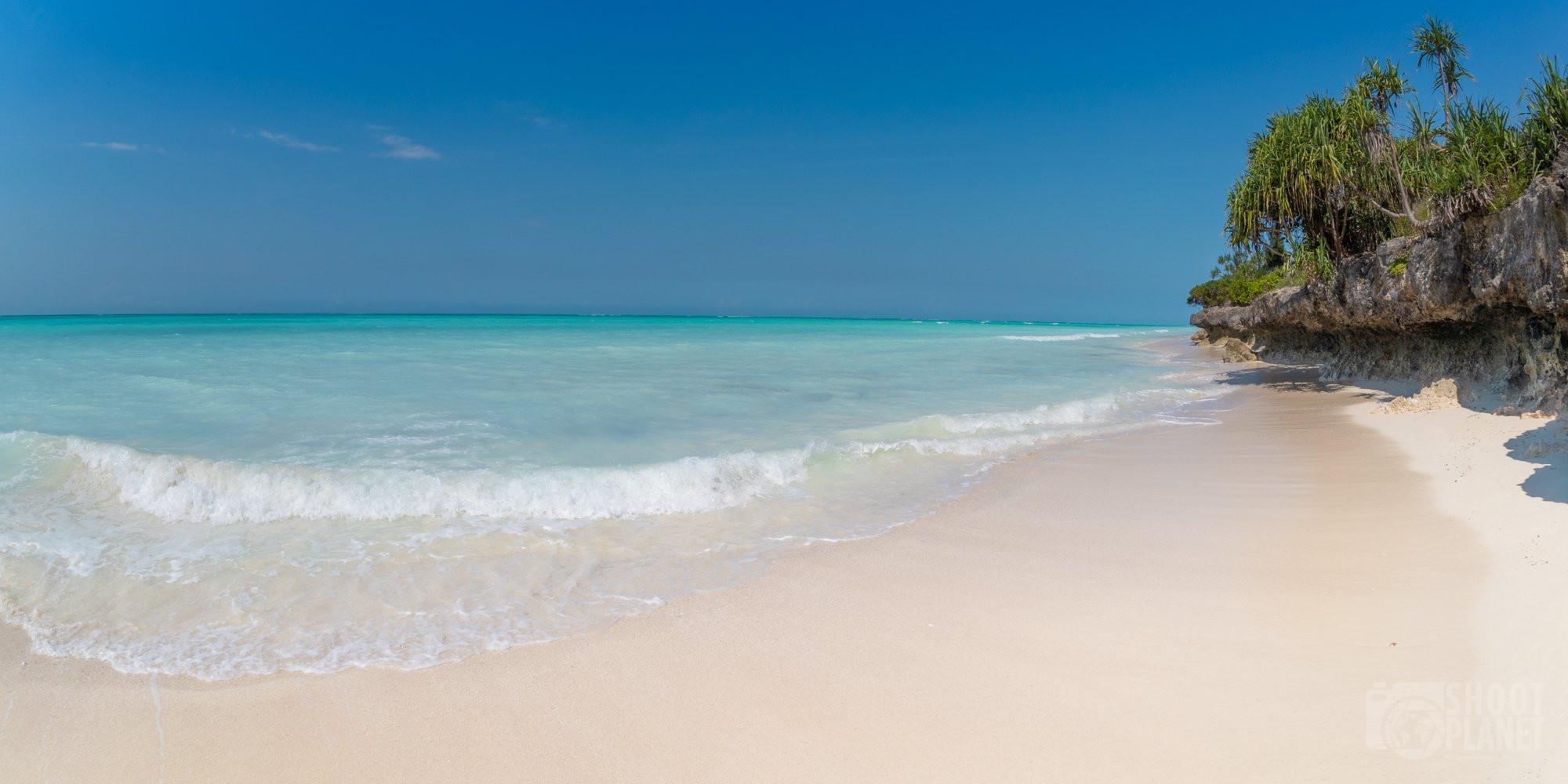 Ras Nungwi deserted beach, Zanzibar Tanzania