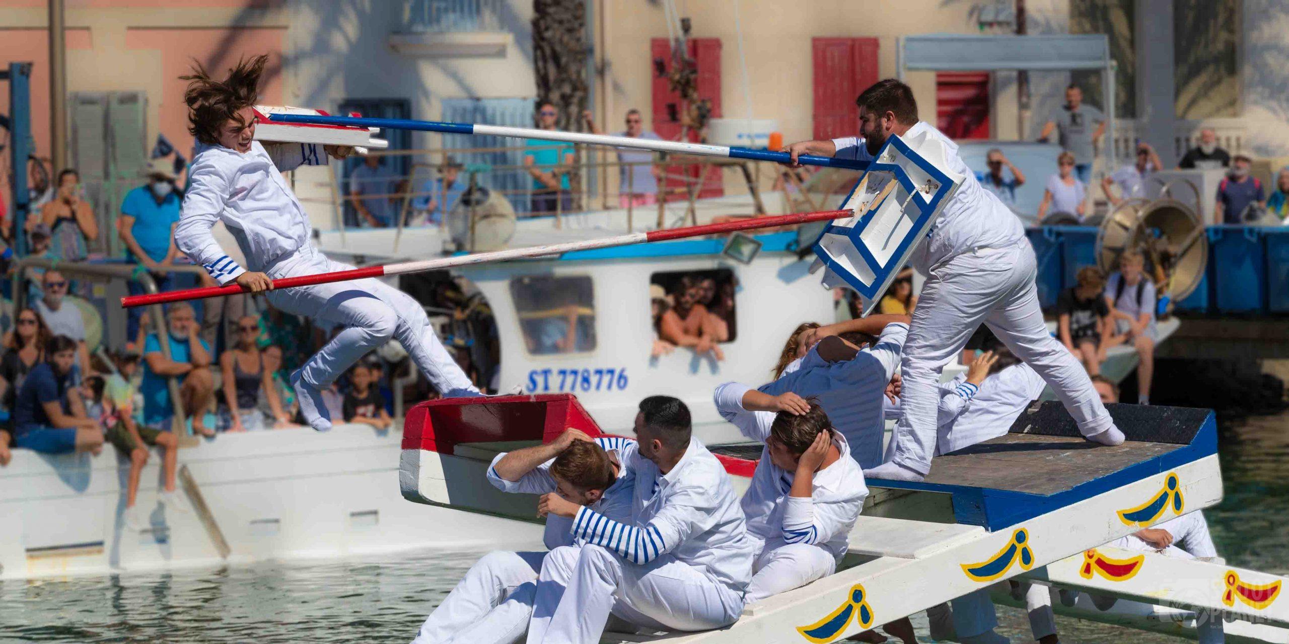 Jousting festival, Grau-du-Roi, Camargue, France
